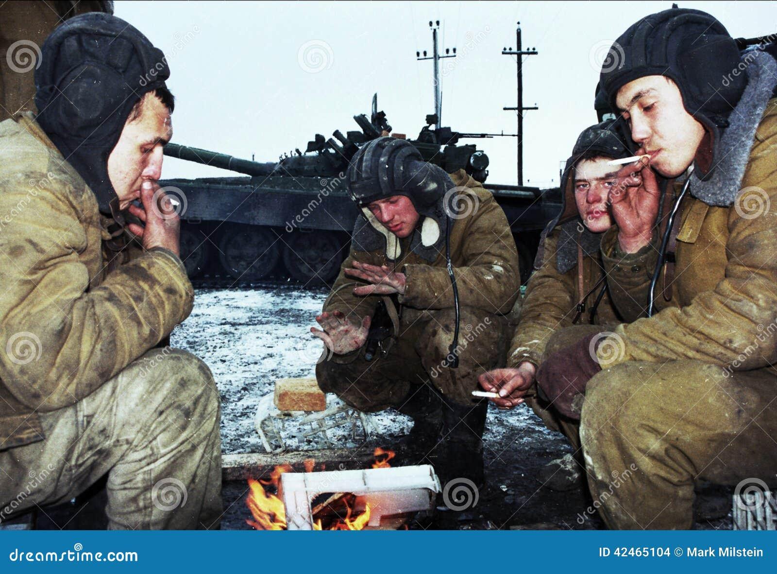 DIE RUSSISCHE INVASION VON TSCHETSCHENIEN