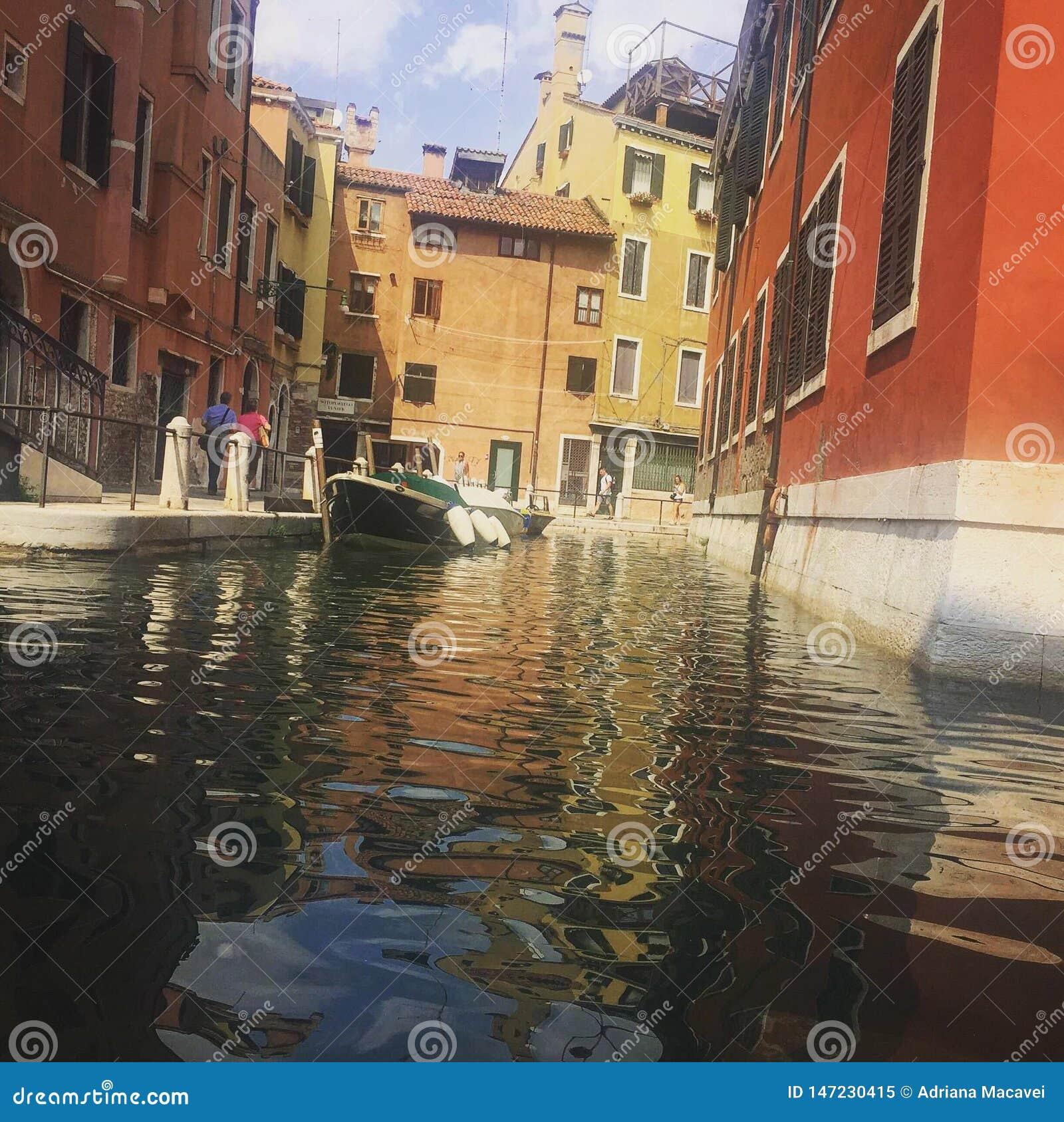 Die schönen Häuser der Einheimischen, Venedig