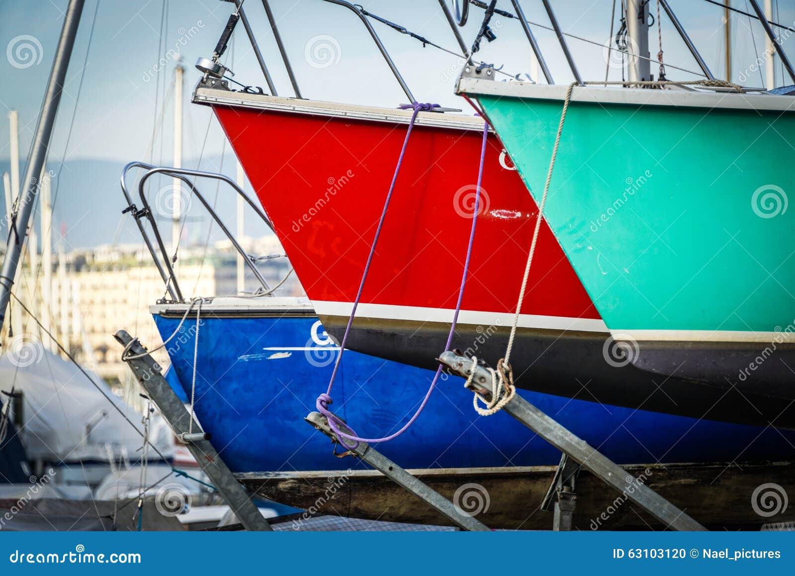 Die Segelboote