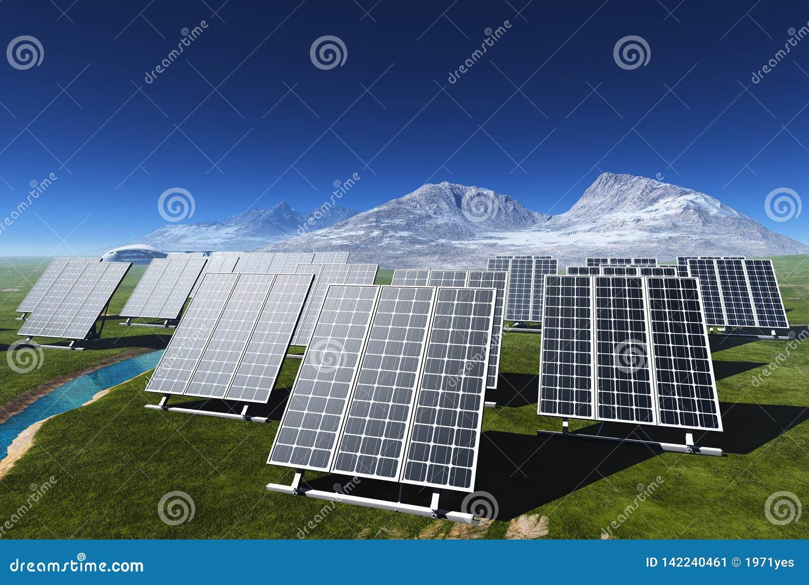 Die Solarbatterie