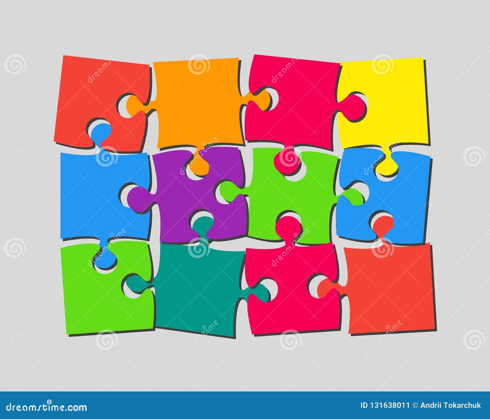 Die 12 Stücke verwirren Fahnen-Laubsäge des Schildes