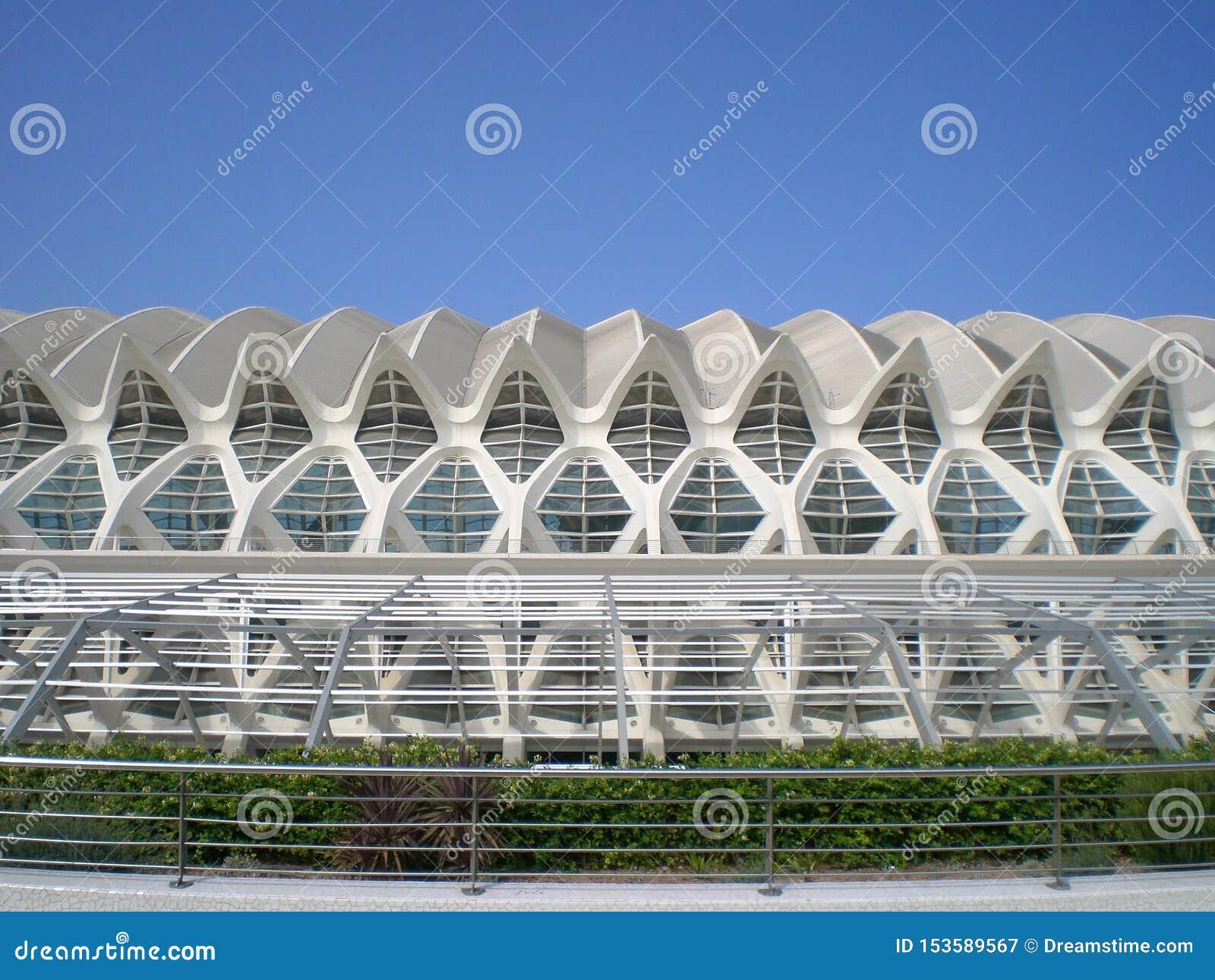 Die Stadt von Künsten und von Wissenschaften Valencia Spain