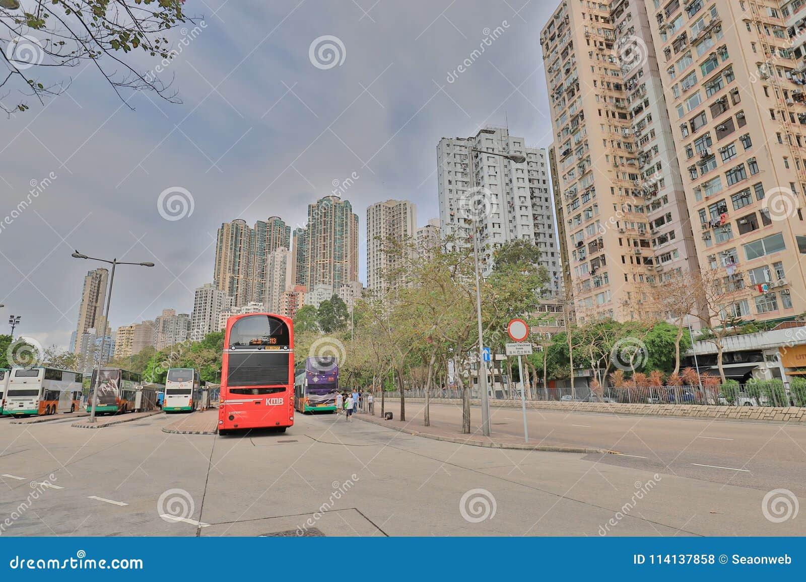 Stadt In Hong Kong