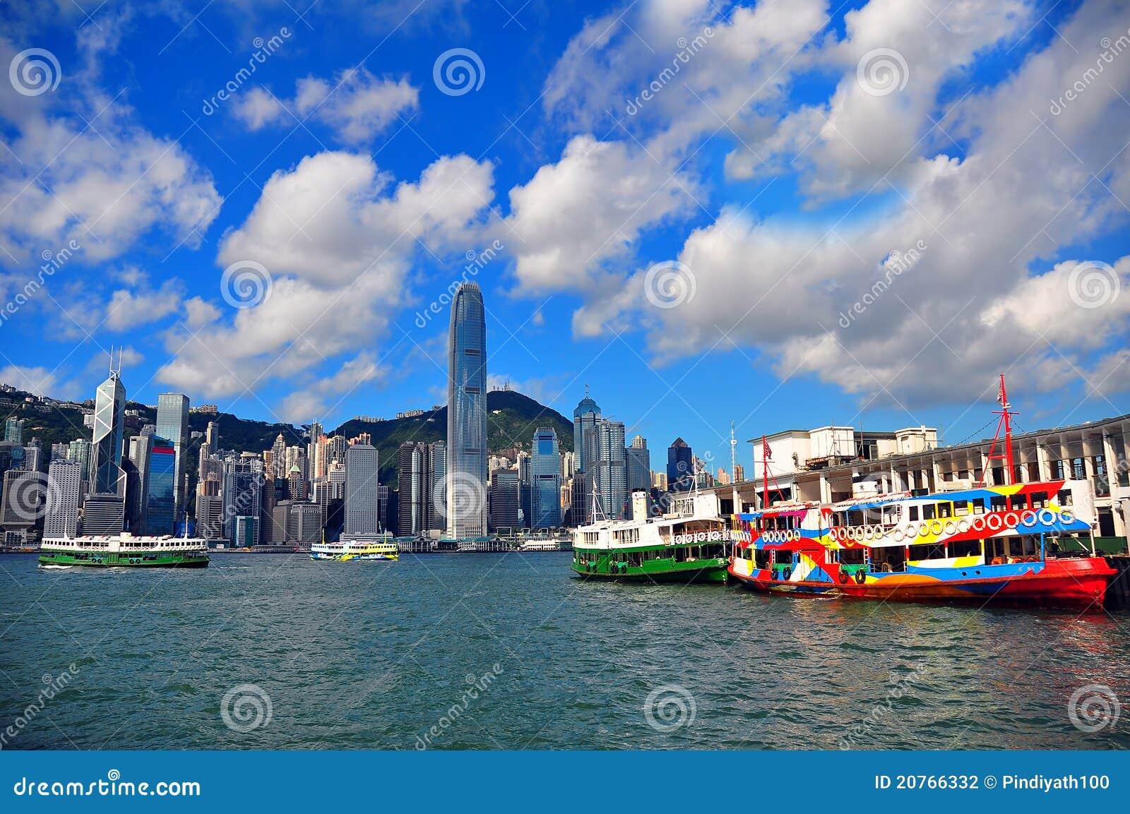 Die Sternfähre, Hong Kong