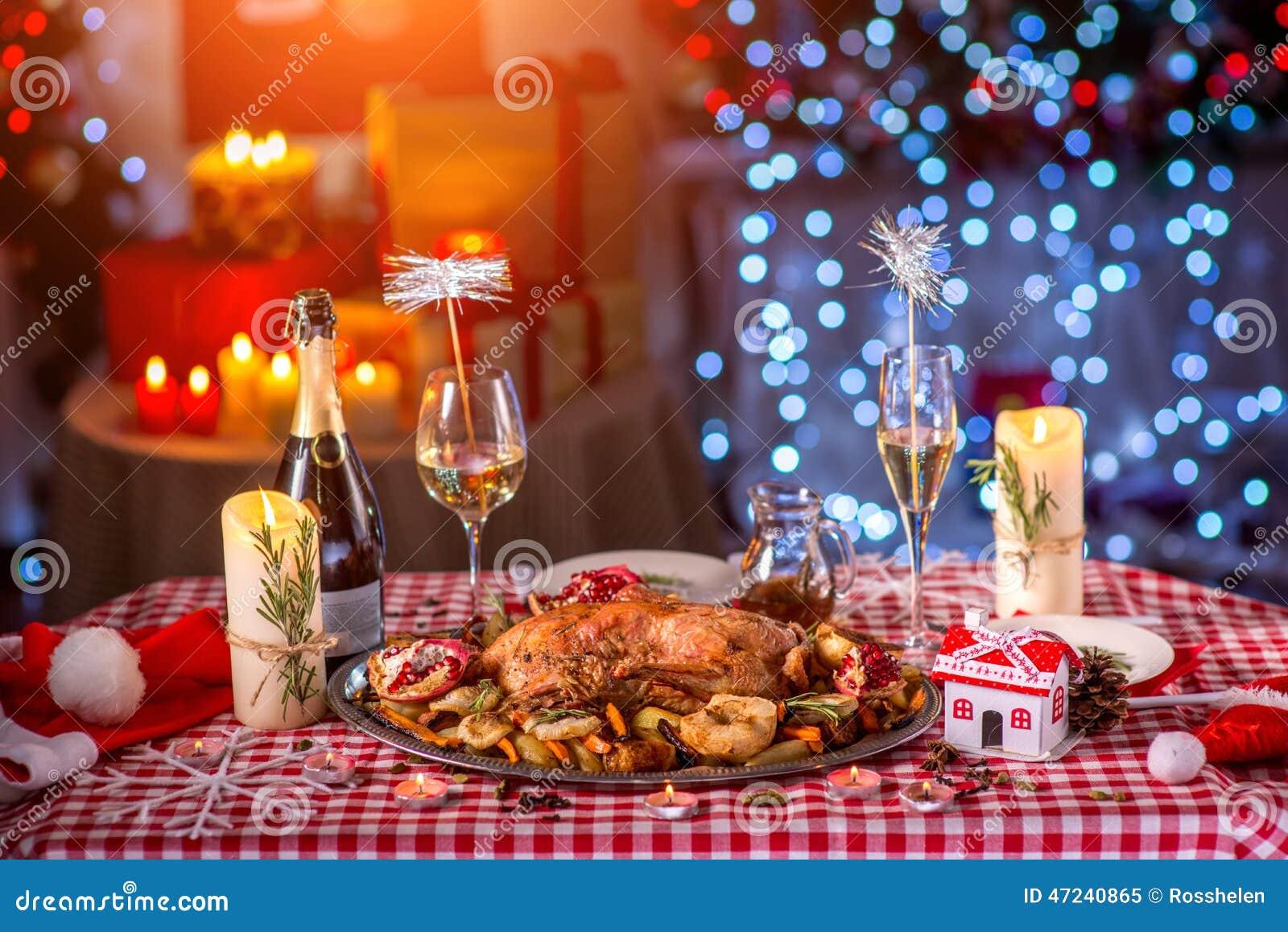 Die Türkei auf Weihnachten verzierte Tabelle