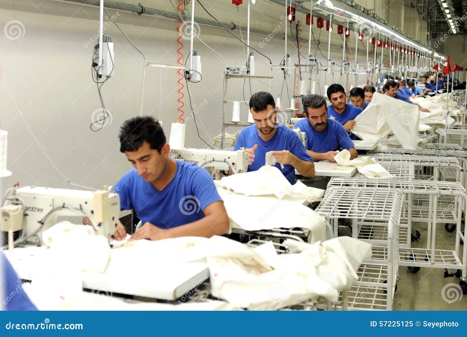 Die Türkei-Textilsektor