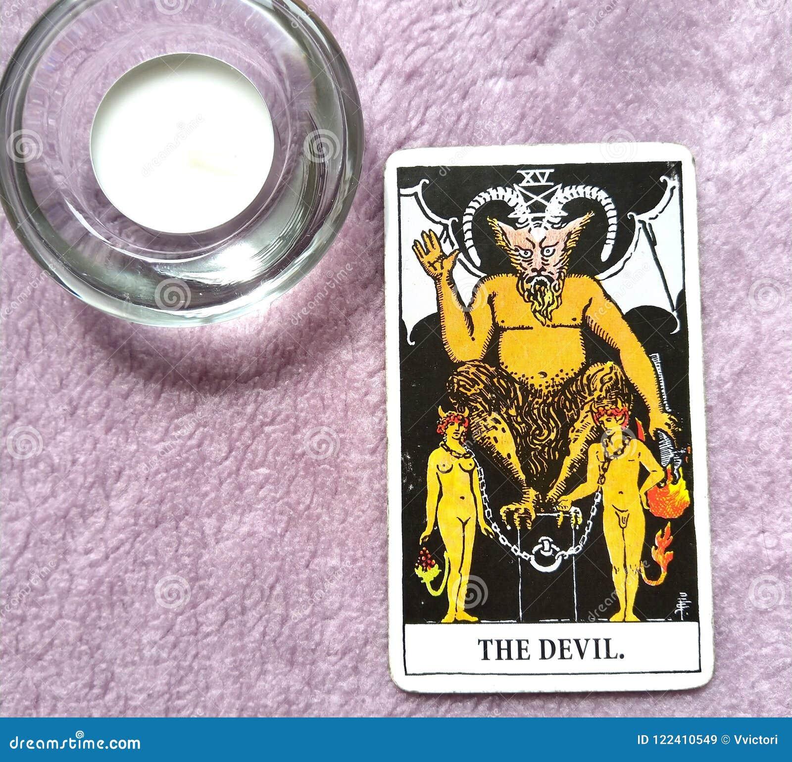 Die Teufel-Tarock-Karten-Knechtschaft, Versuchung, Versklavung, Materialismus, Sucht