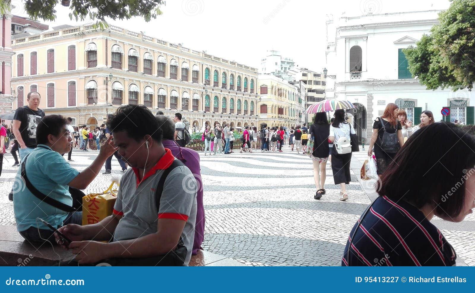 Die Touristenattraktion