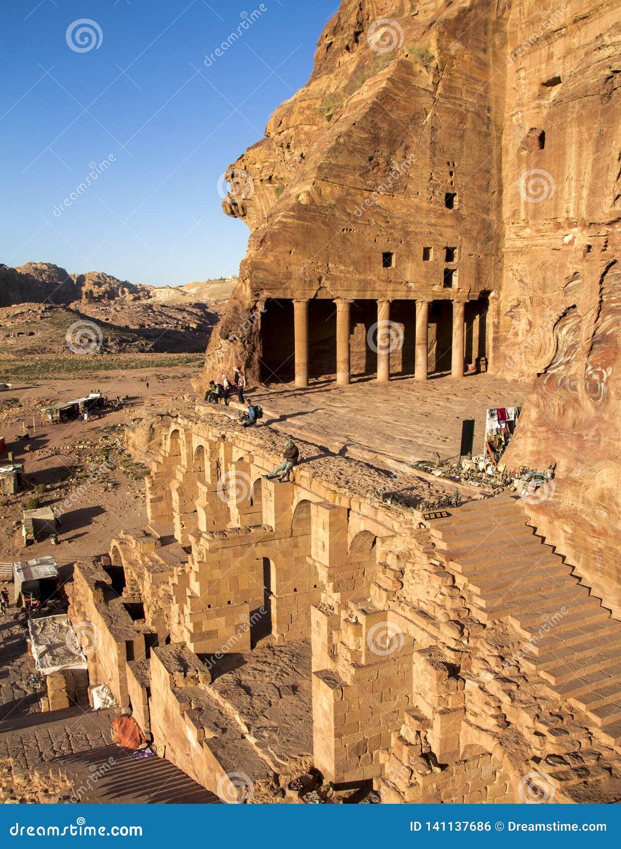 Die Urne Tom ist aller königlichen toms, Jordanien das faszinierendste