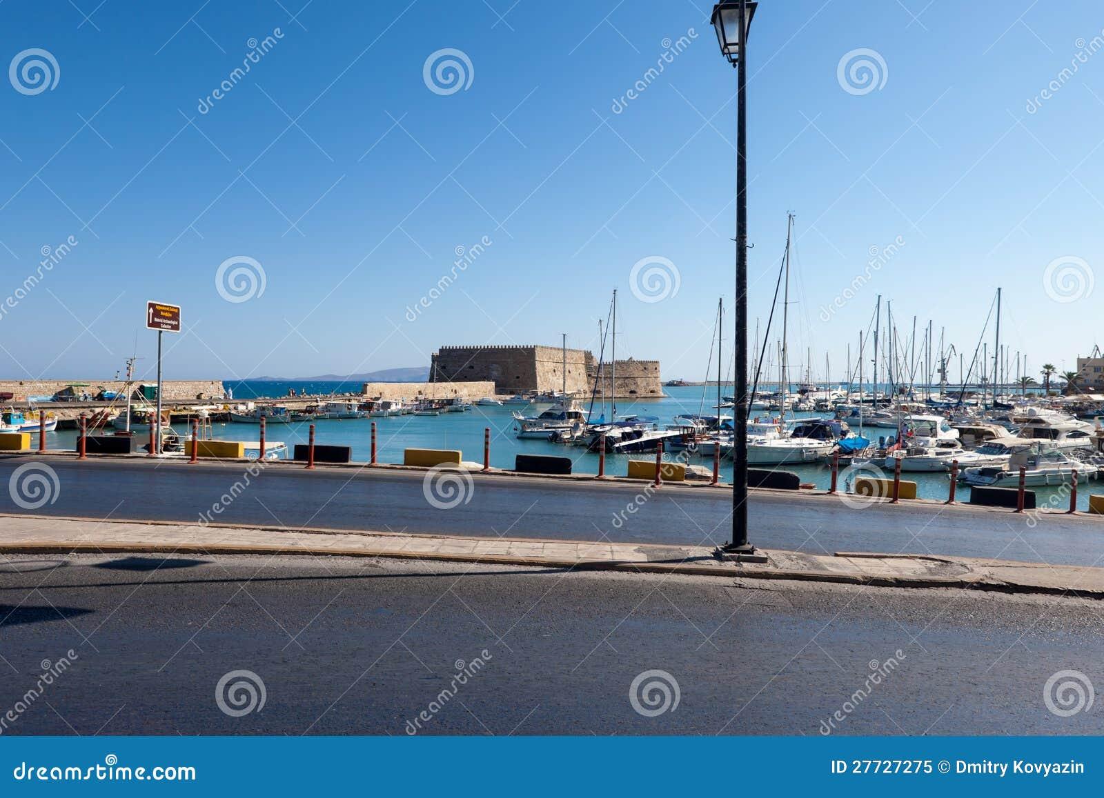 Die venetianische Festung Koules