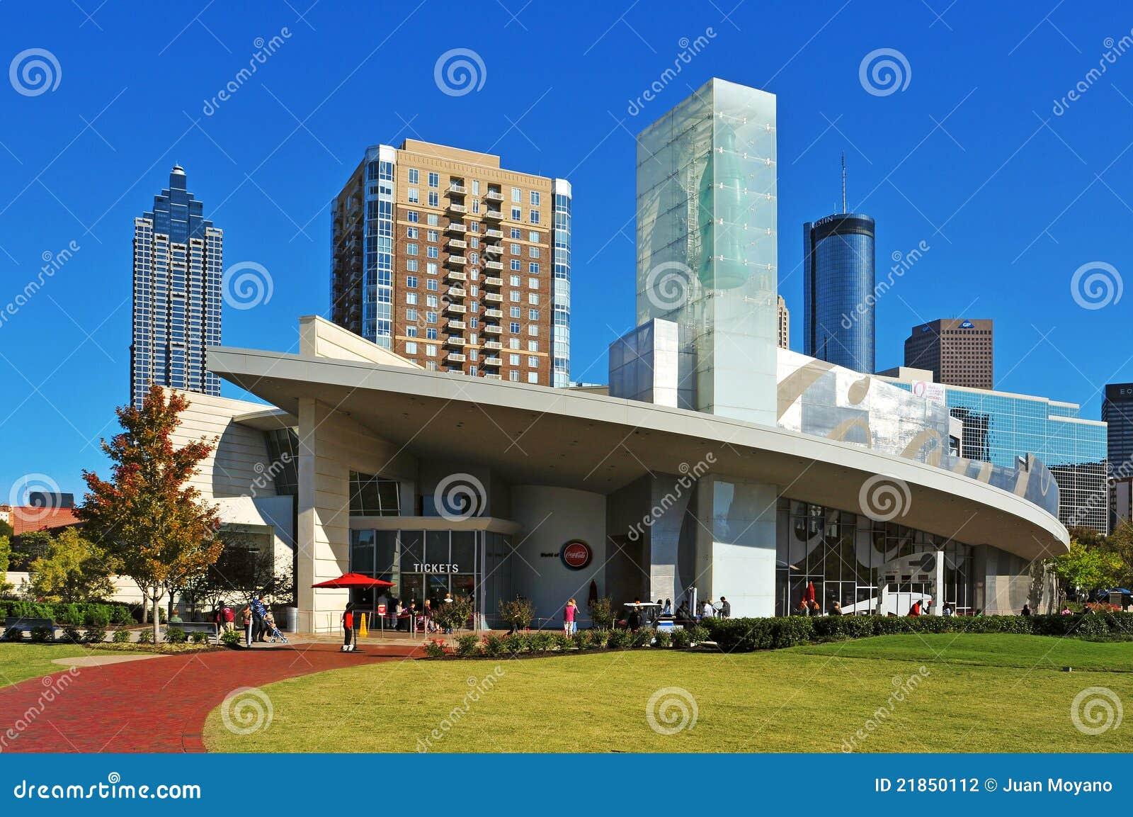 Die Welt von Coca Cola, Atlanta, Vereinigte Staaten
