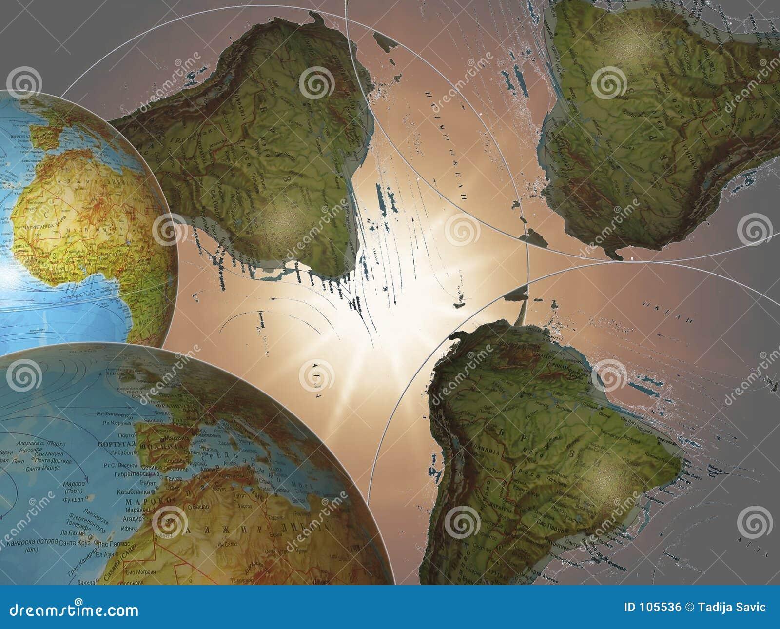 Die Weltraumstrahlen