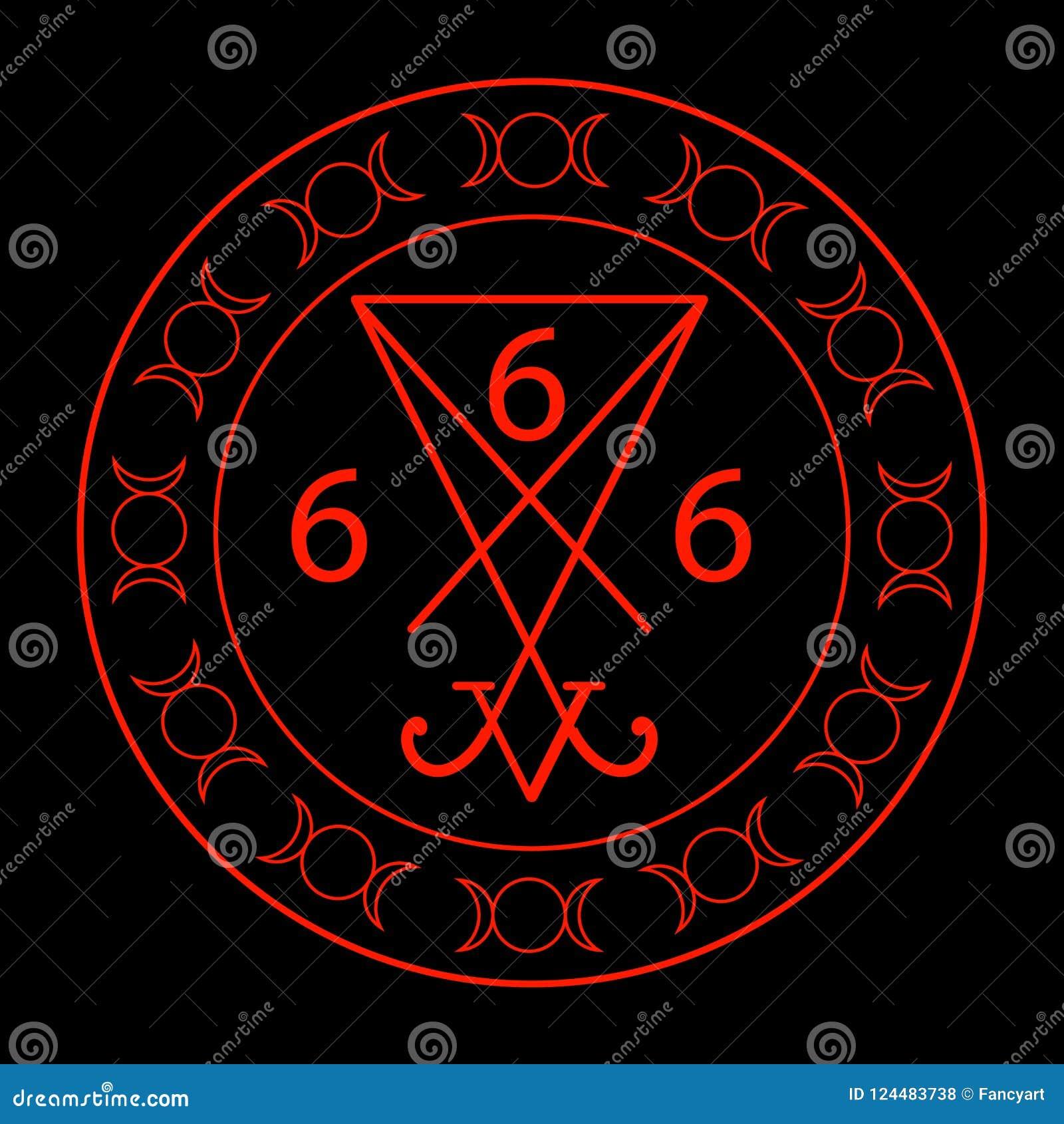 Teufels bedeutung des zahl 666 666