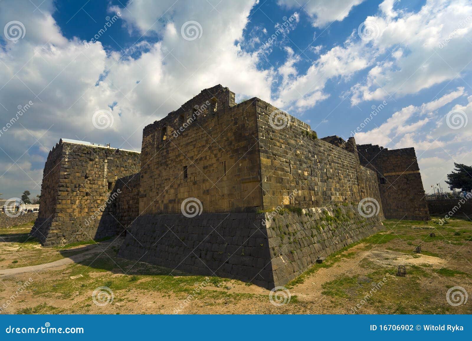 Die Zitadelle in Bosra