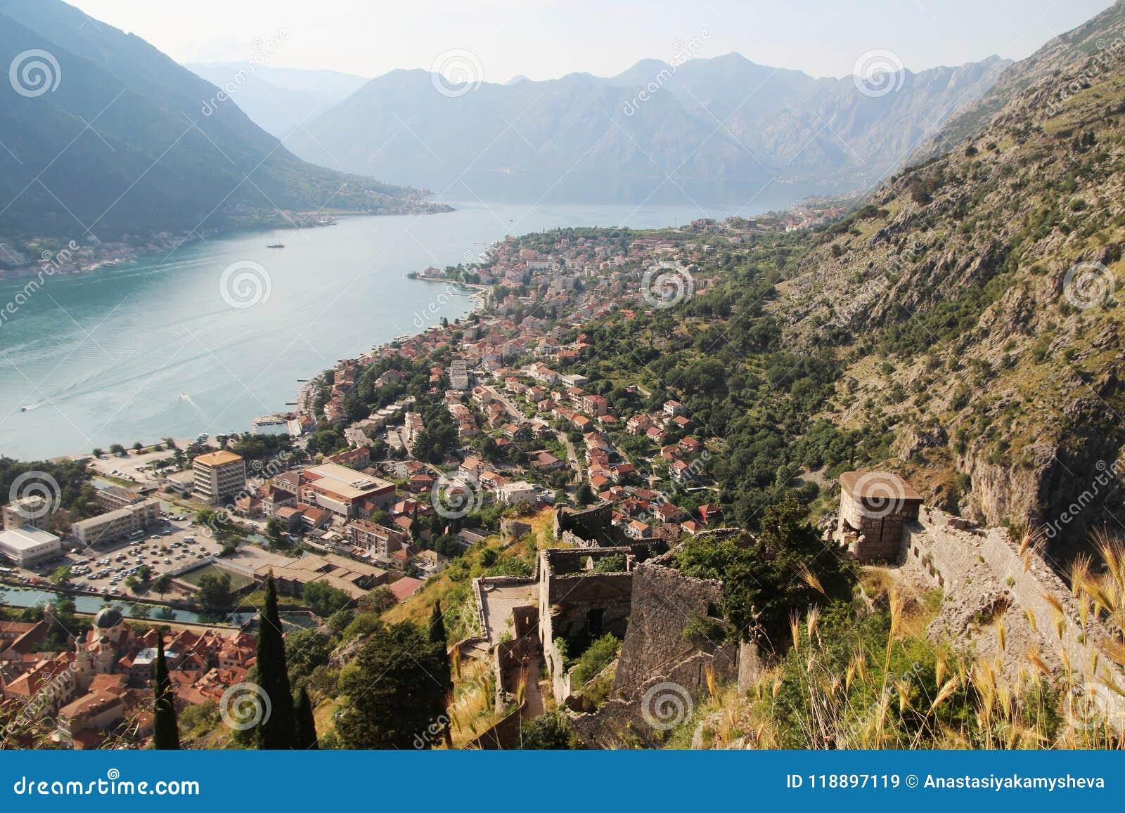 Die Zitadelle in Kotor, Montenegro