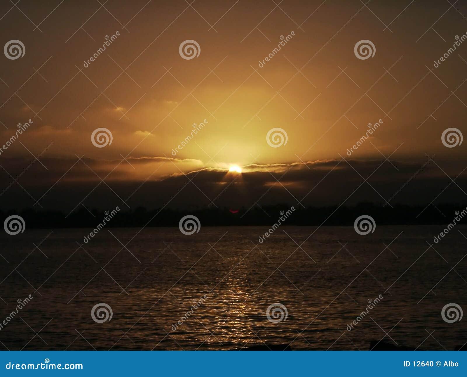 Diego san solnedgång