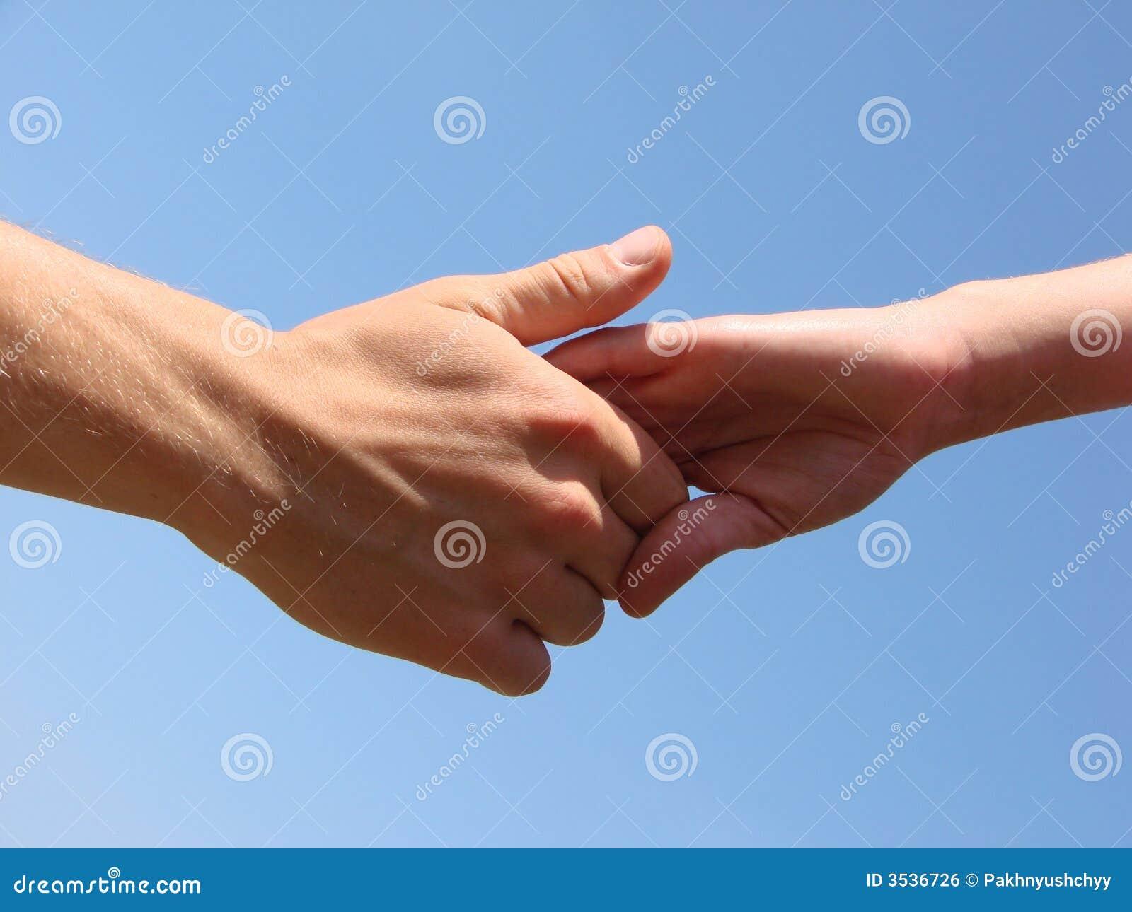 Dien een hand in