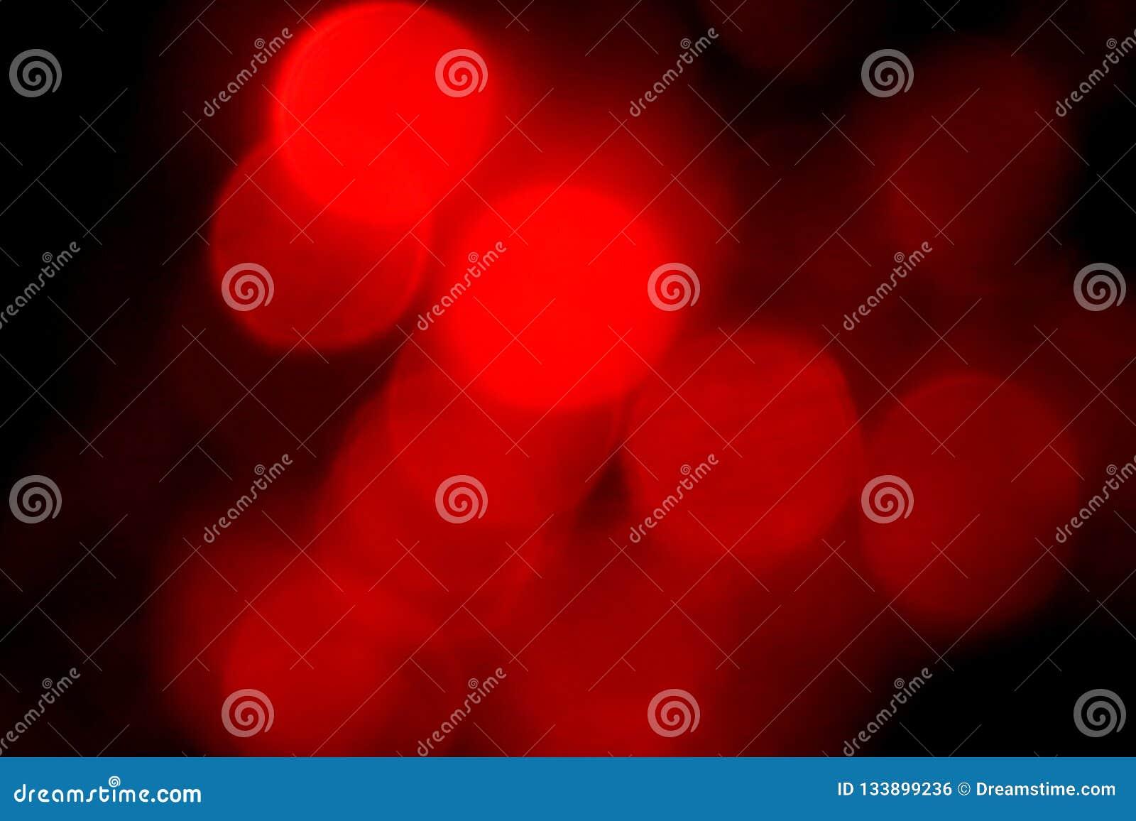 Diep rode lichten - achtergrond