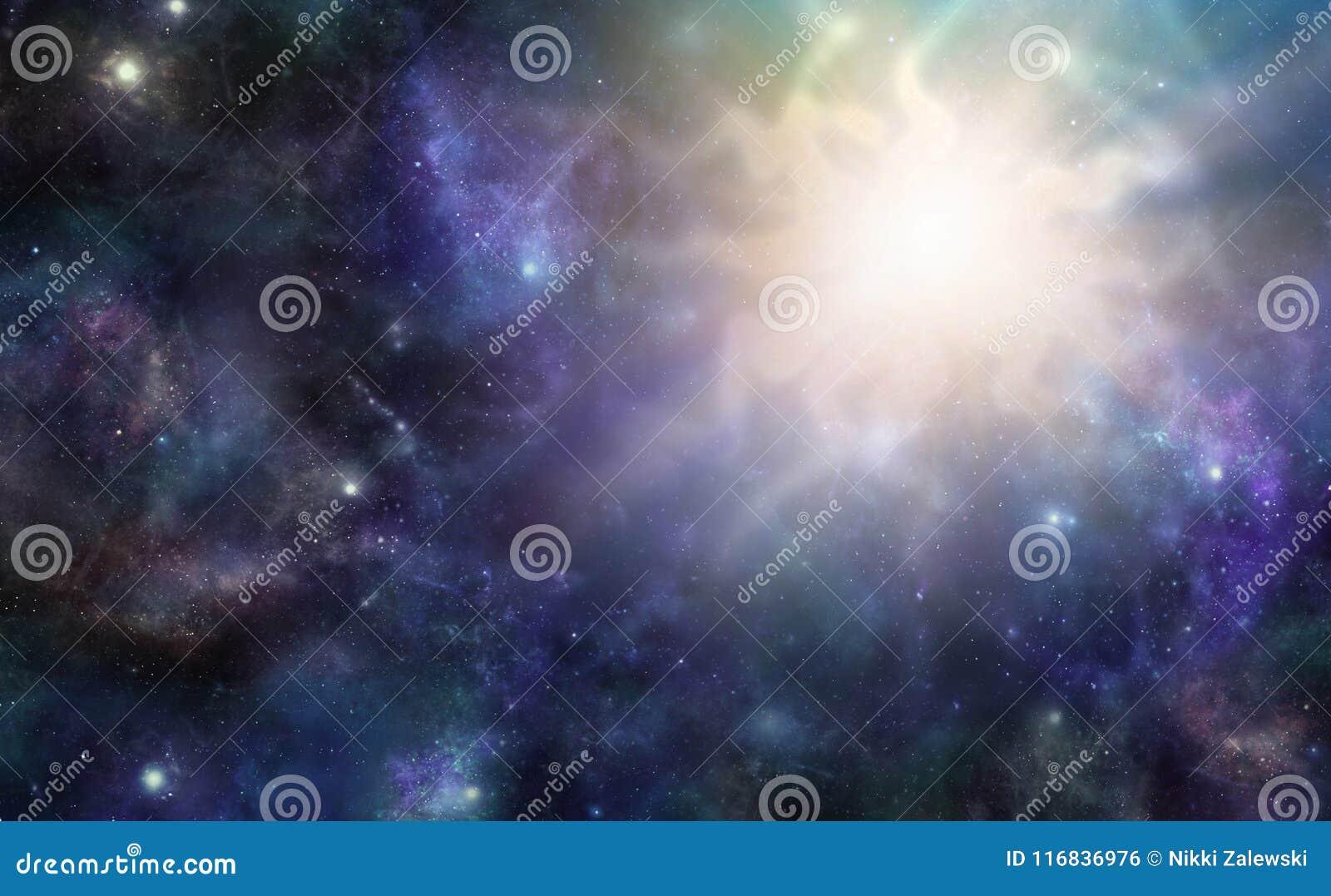 Diepe Ruimte Massieve Kosmische Gebeurtenis