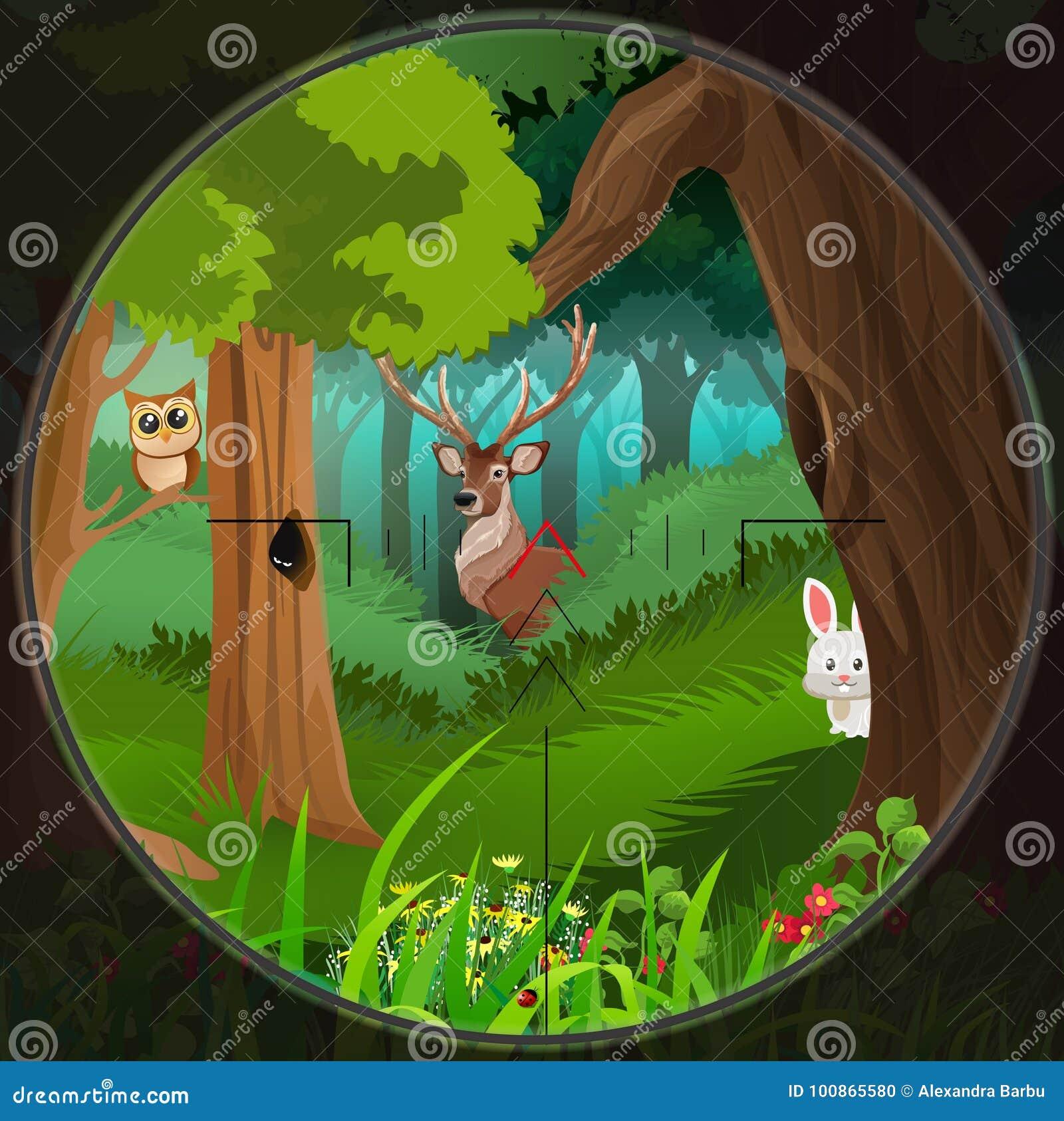 Dieren in het hout