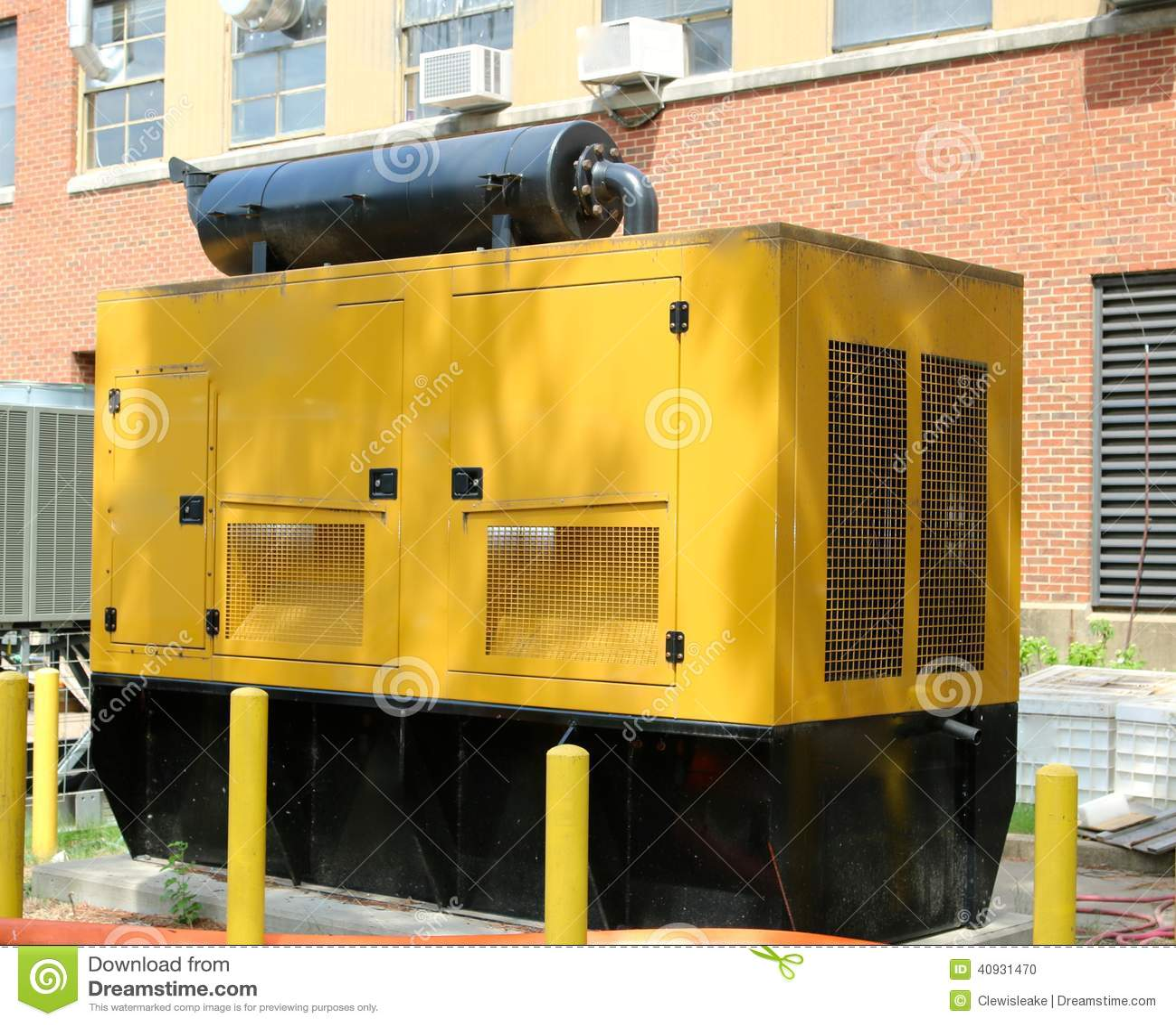 Diesel amarelo - gerador posto