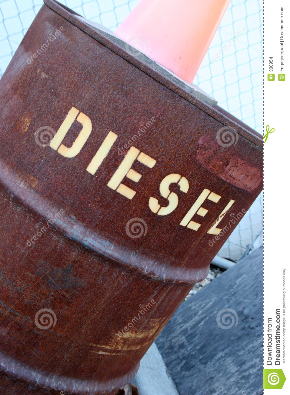Diesel Barrel Stock Photo  Image Of Transport  Tank