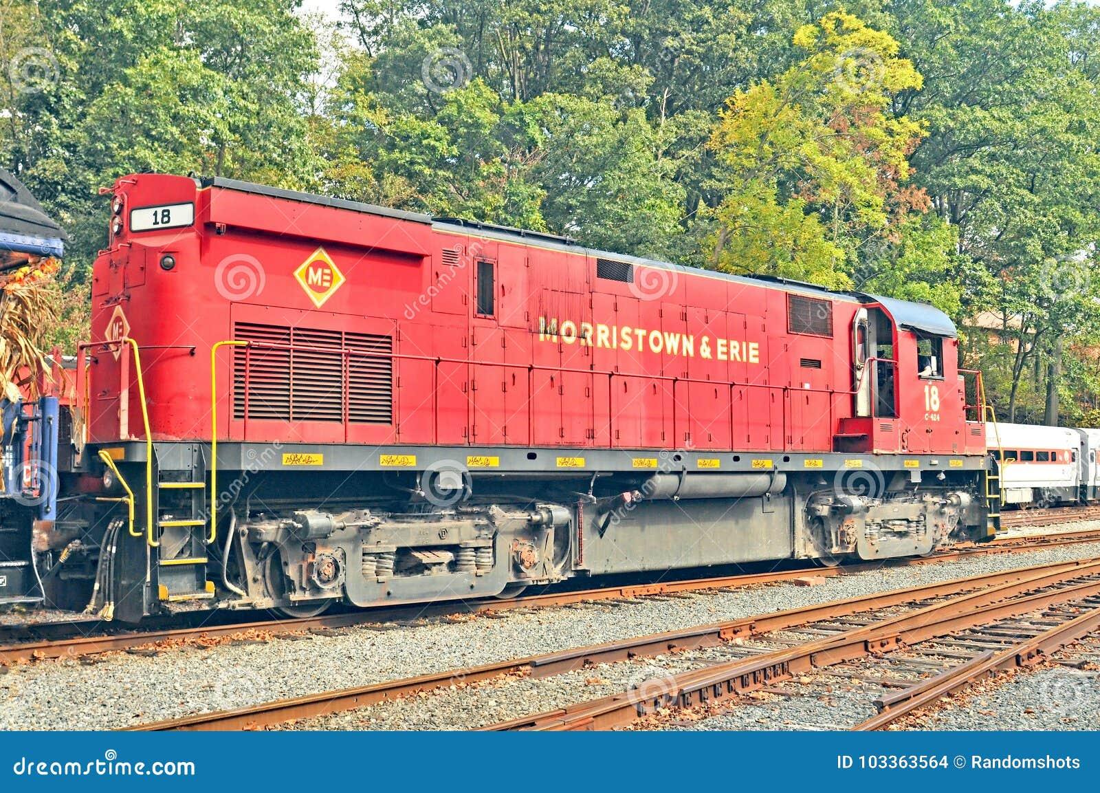 Diesel-Electric Locomotive editorial stock image  Image of