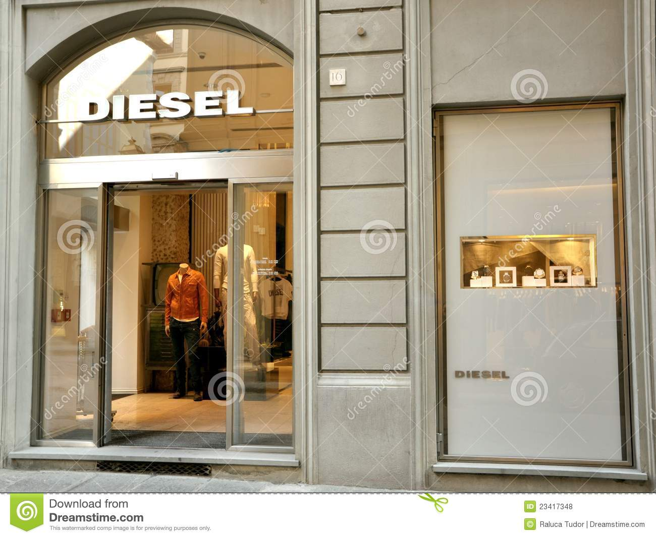 Diesel fashion shop in italy editorial stock photo image for Dream store firenze