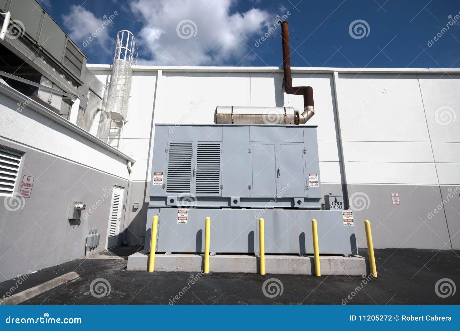 Diesel Generator Unit Stock Photography Image 11205272