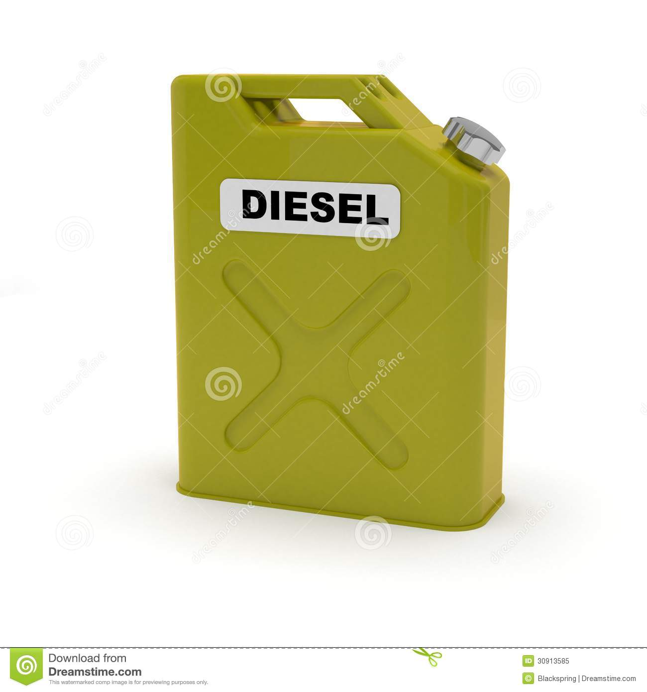 Diesel Jerrycan Royalty Free Stock Photo - Image: 30913585