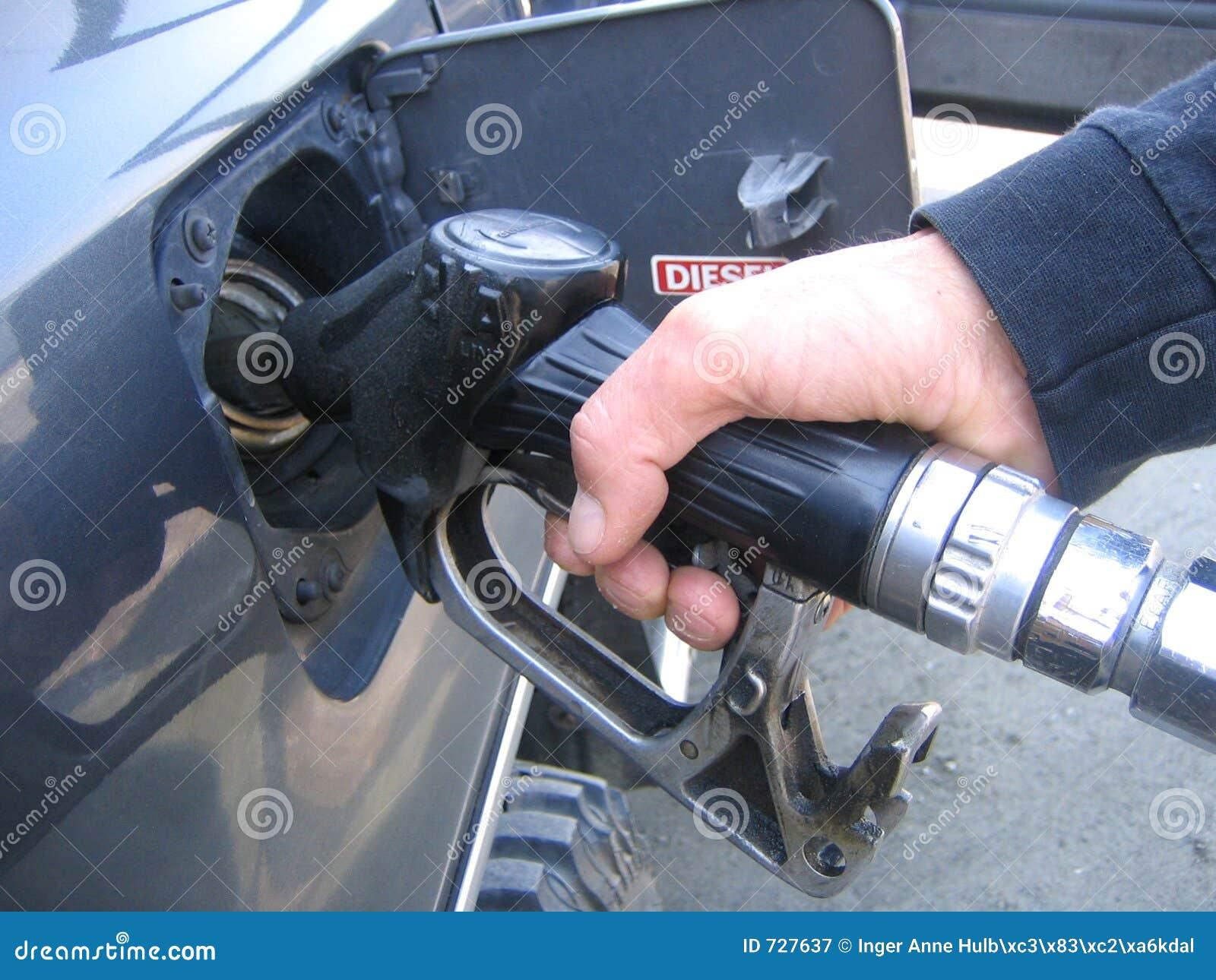 Diesel remplissant