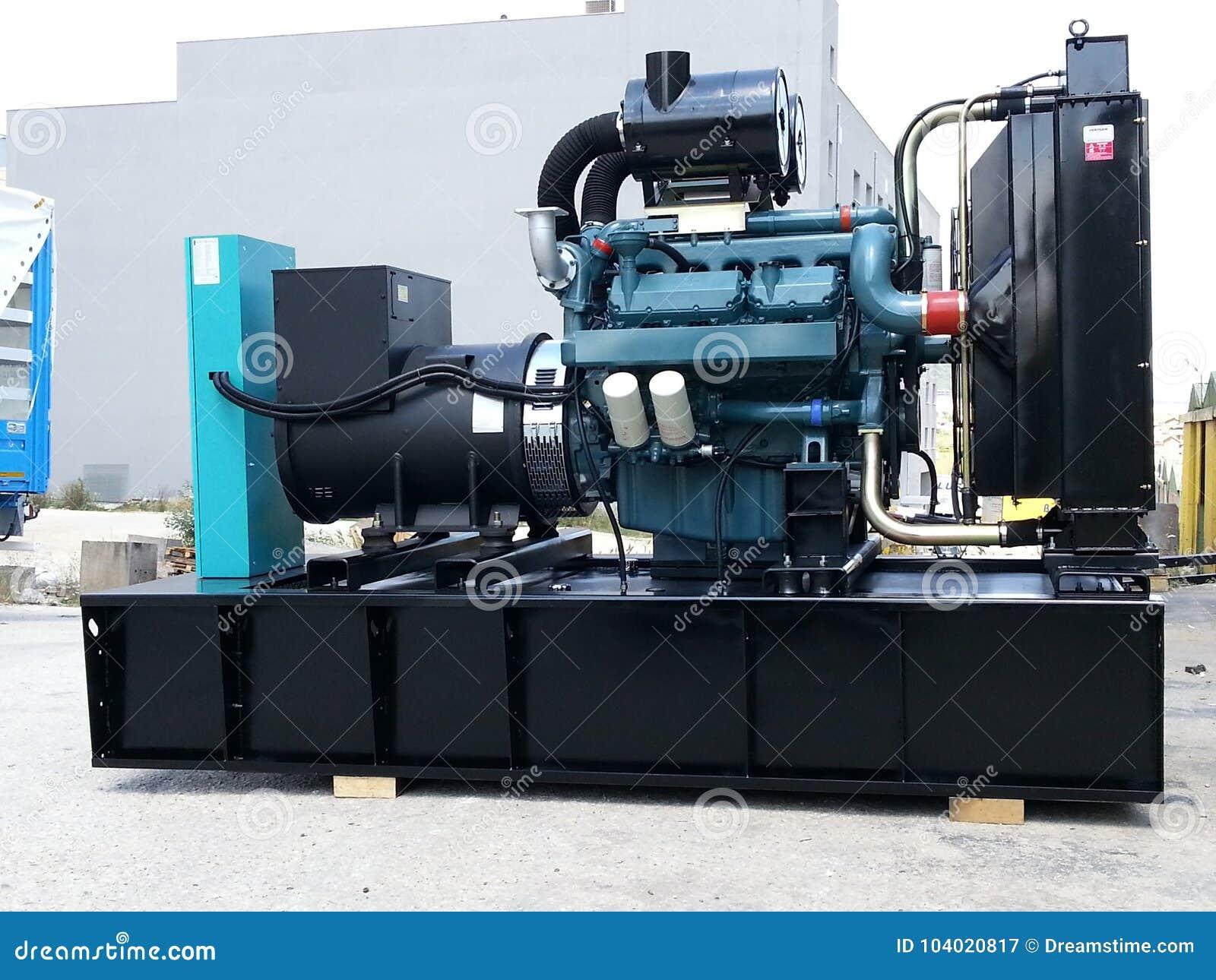 Dieselaggregat mit Doosan-Maschine