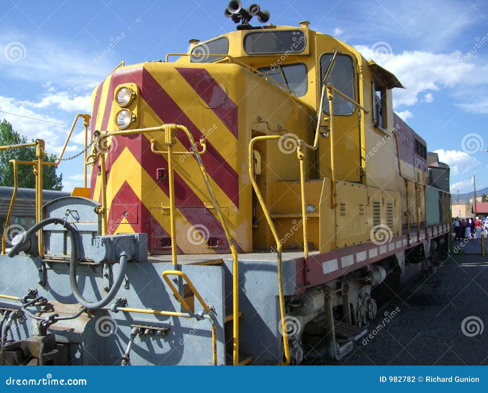 Dieselmotorlokomotiv
