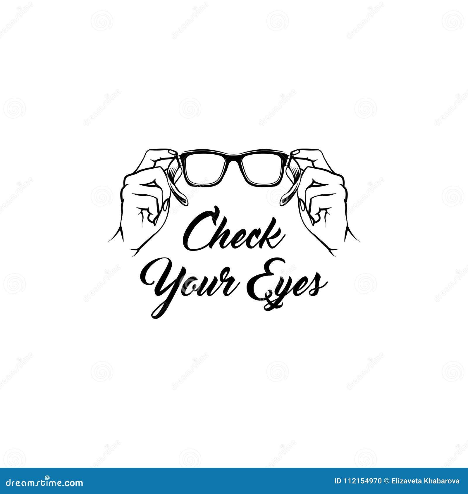 Dieses ist Datei des Formats EPS10 Medizinische Behandlung Optiker kreativ Augenheilkundedesign Vektor
