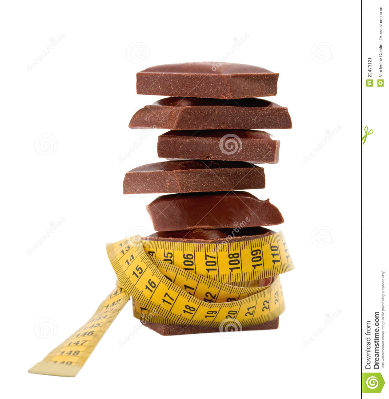 Chocolate Diet. Royalty Free Stock Photography - Image: 30108977