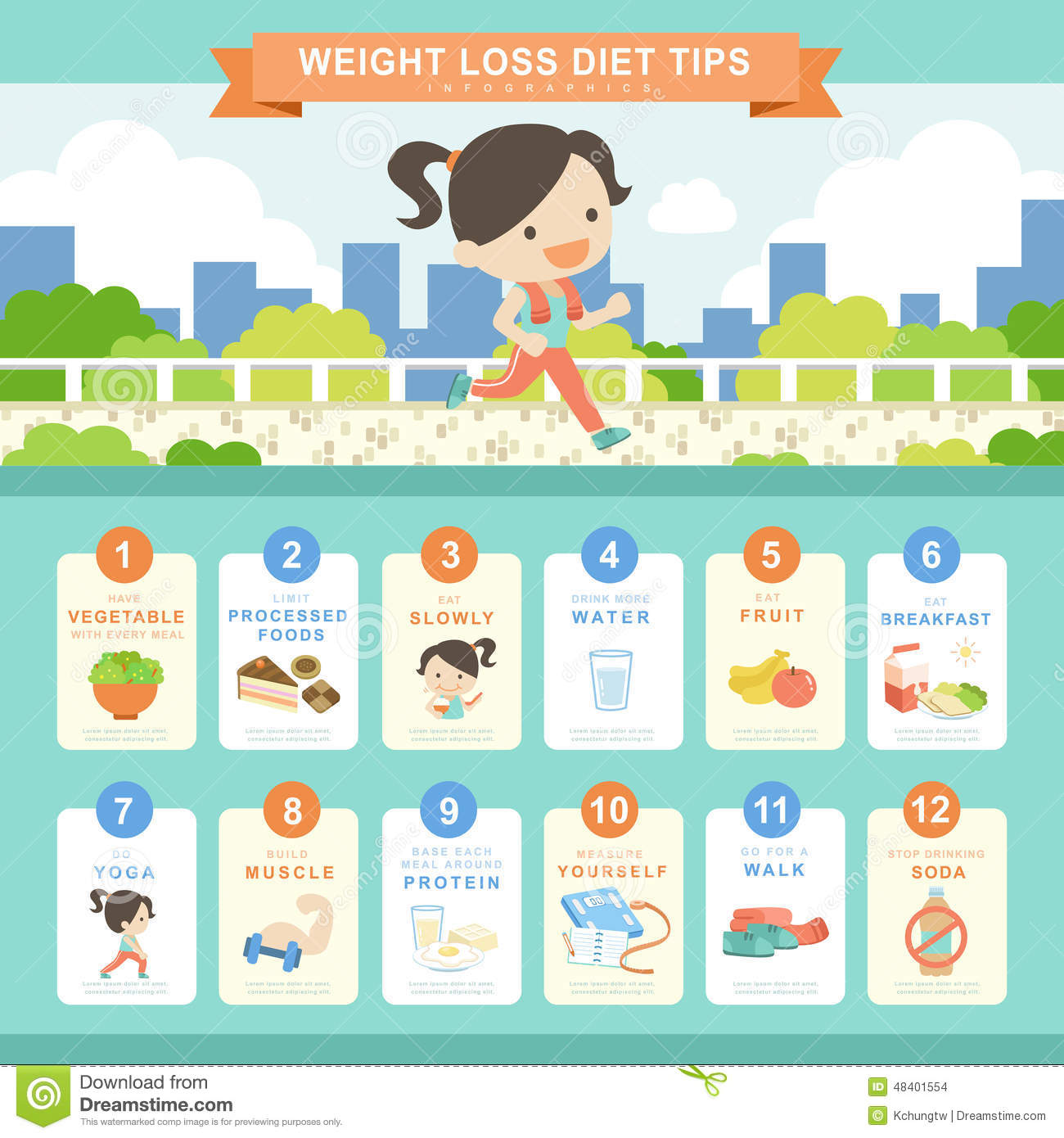 Stock Illustration Diet Concept Infographic Template Design Shopping Bags Element Image48401554 on design a food chart