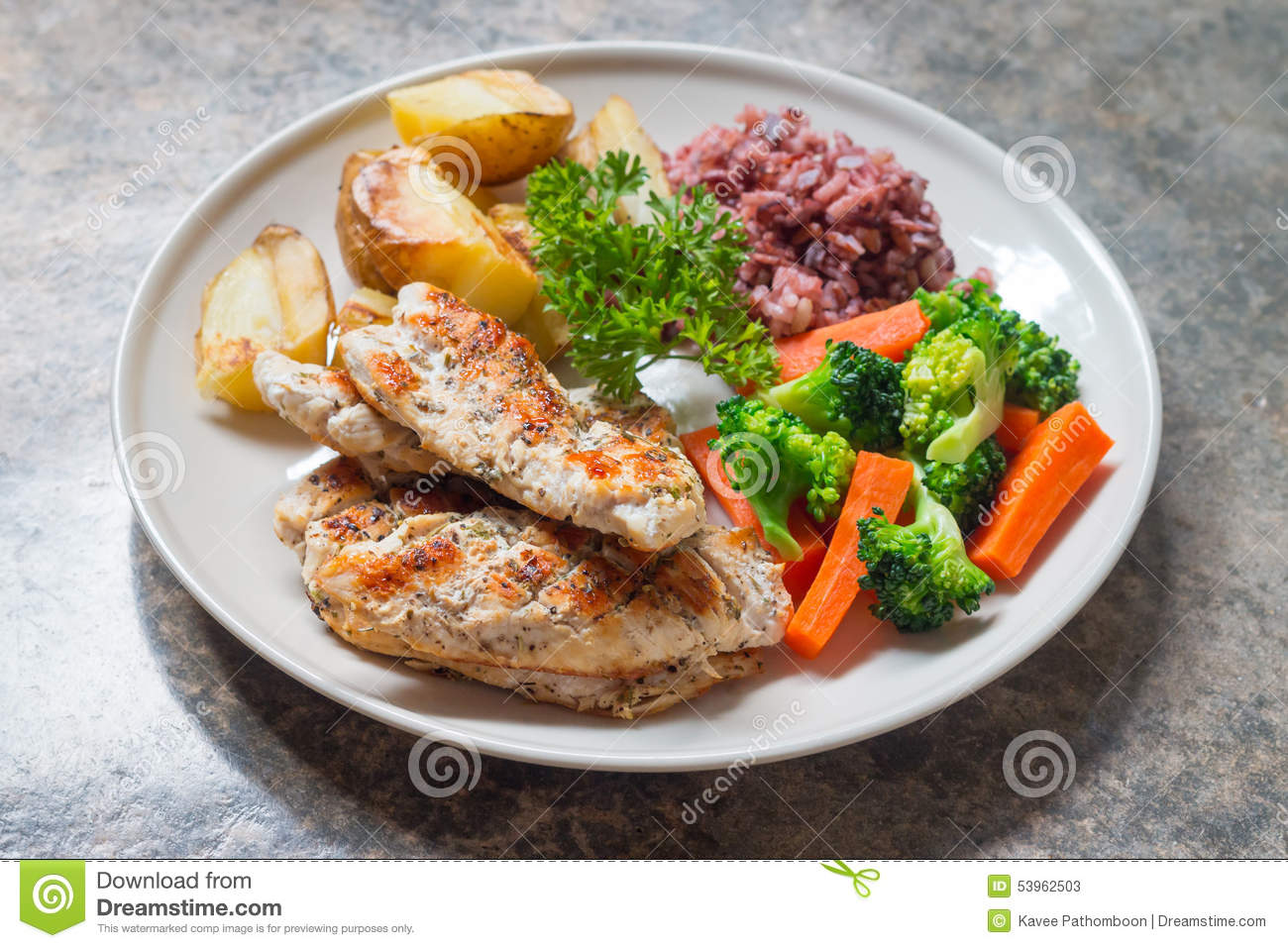 Diet food clean eating chicken steak and with vegetable stock image image of omelet leaf - Foods never wash cooking ...
