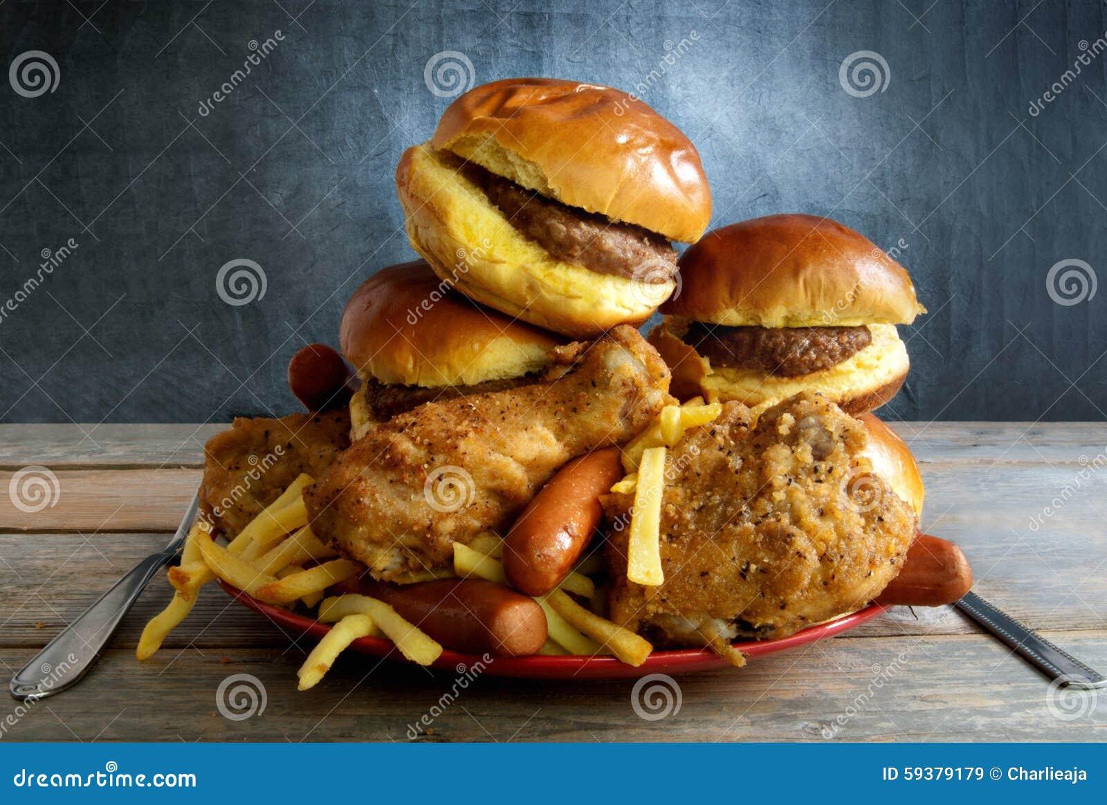 Dieta de comida lixo