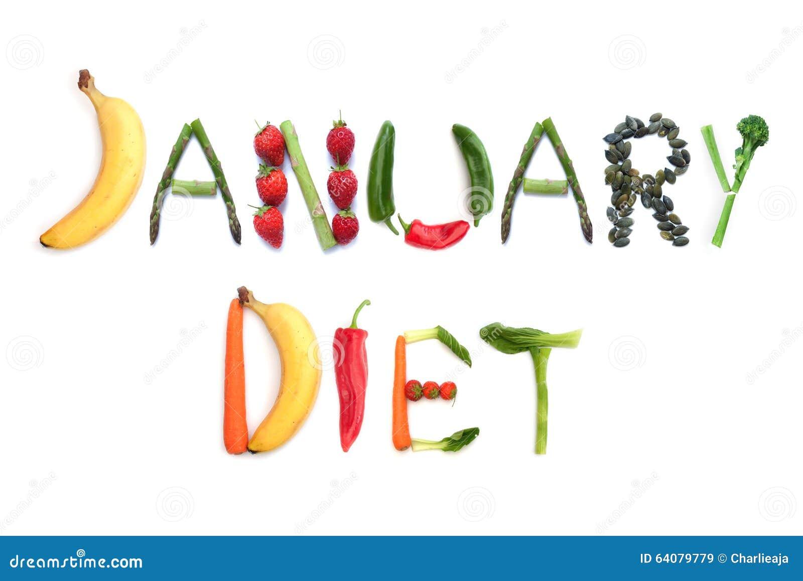Dieta de enero