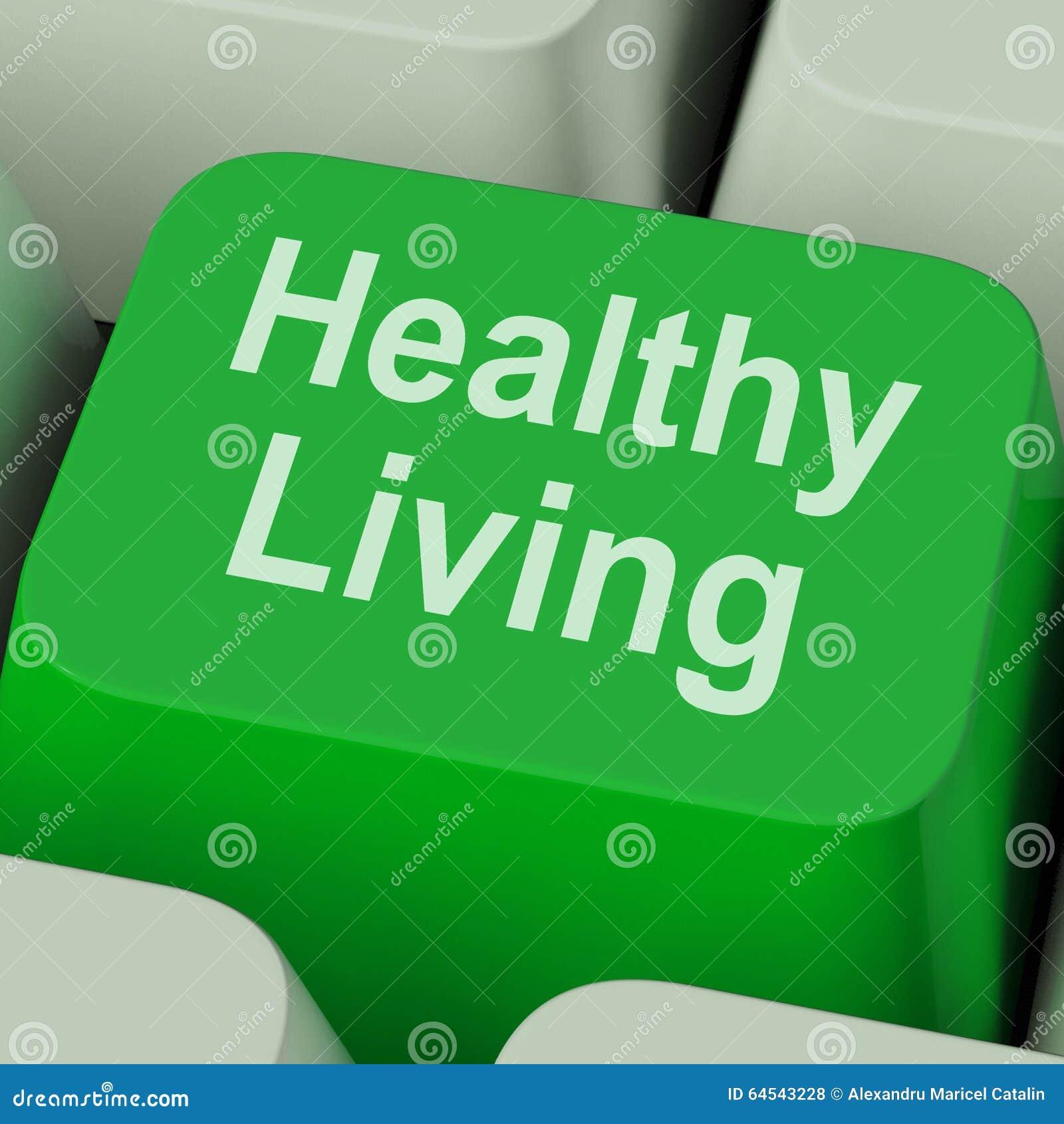 Dieta e aptidão chaves vivas saudáveis da saúde das mostras