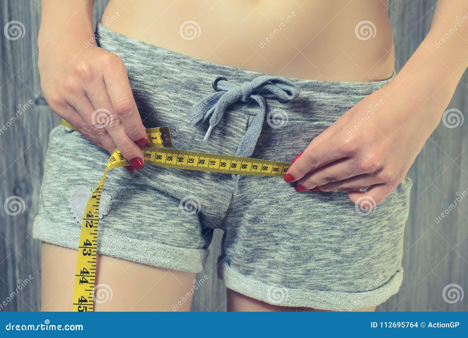 Dieta que adelgaza concepto sano de la forma de vida de peso de la pérdida del cuerpo del cuidado del centímetro apto delgado de
