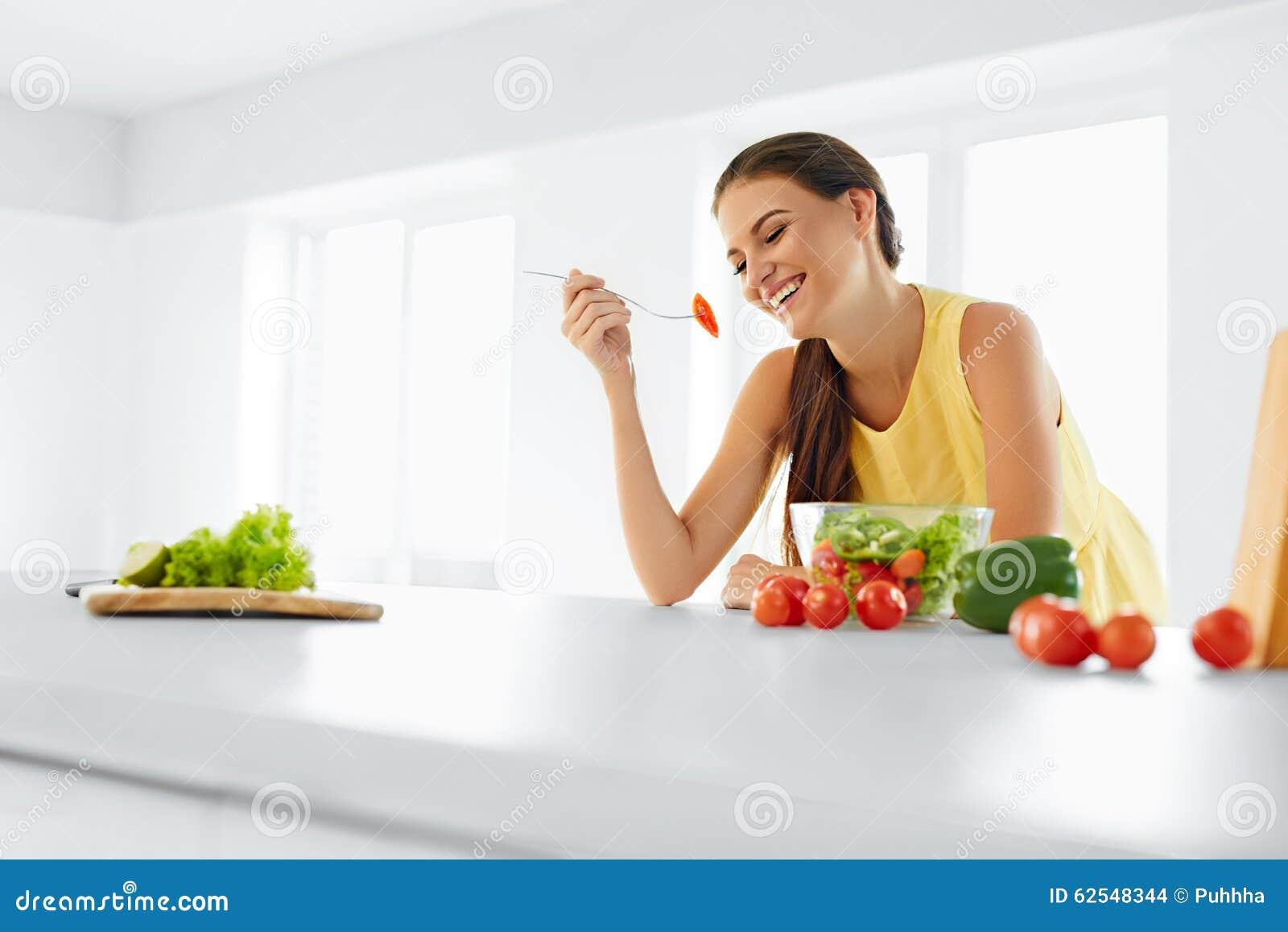 Dieta zdrowa łasowanie kobieta sałatkowa jarska Zdrowy łasowanie, Foo