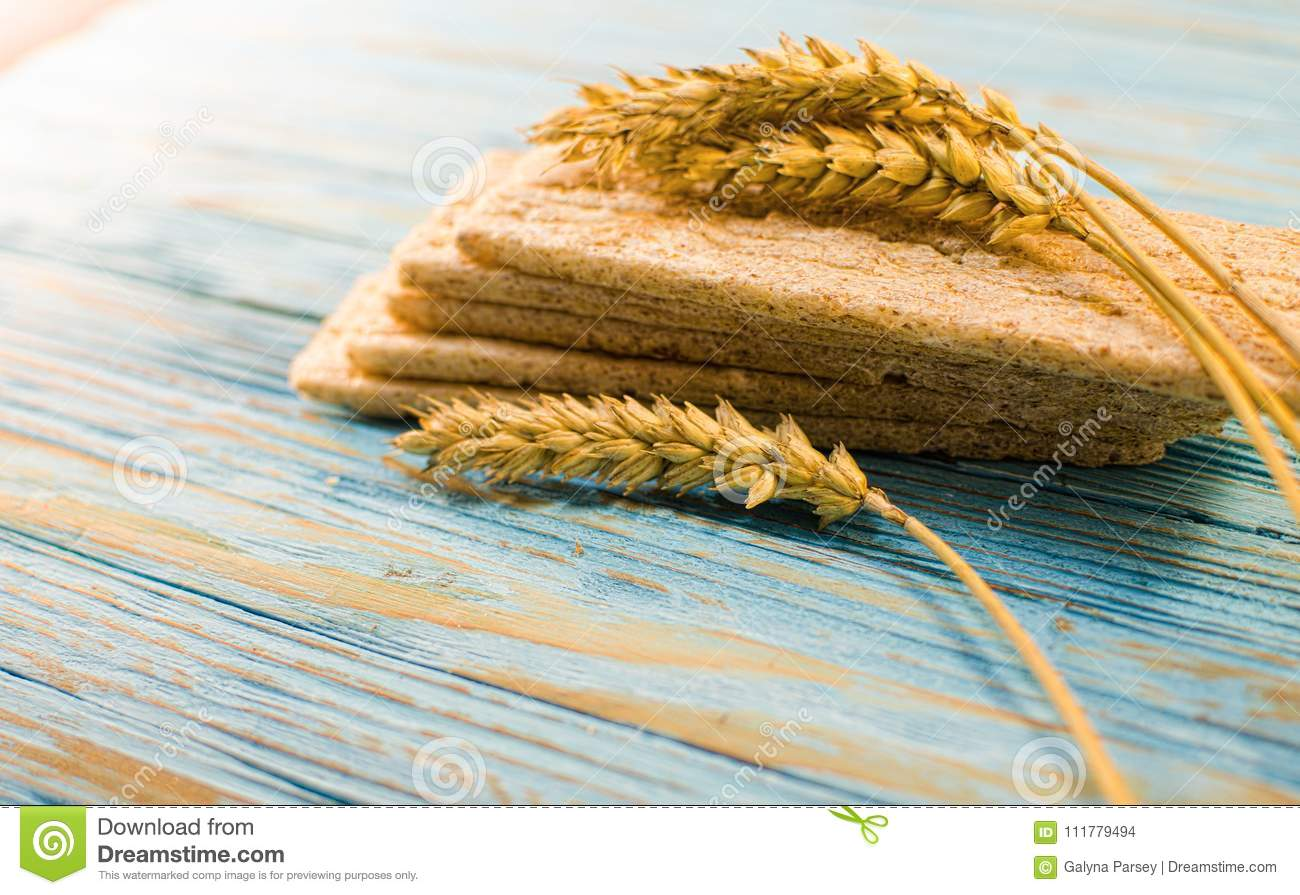 Dietary bread made from cereals
