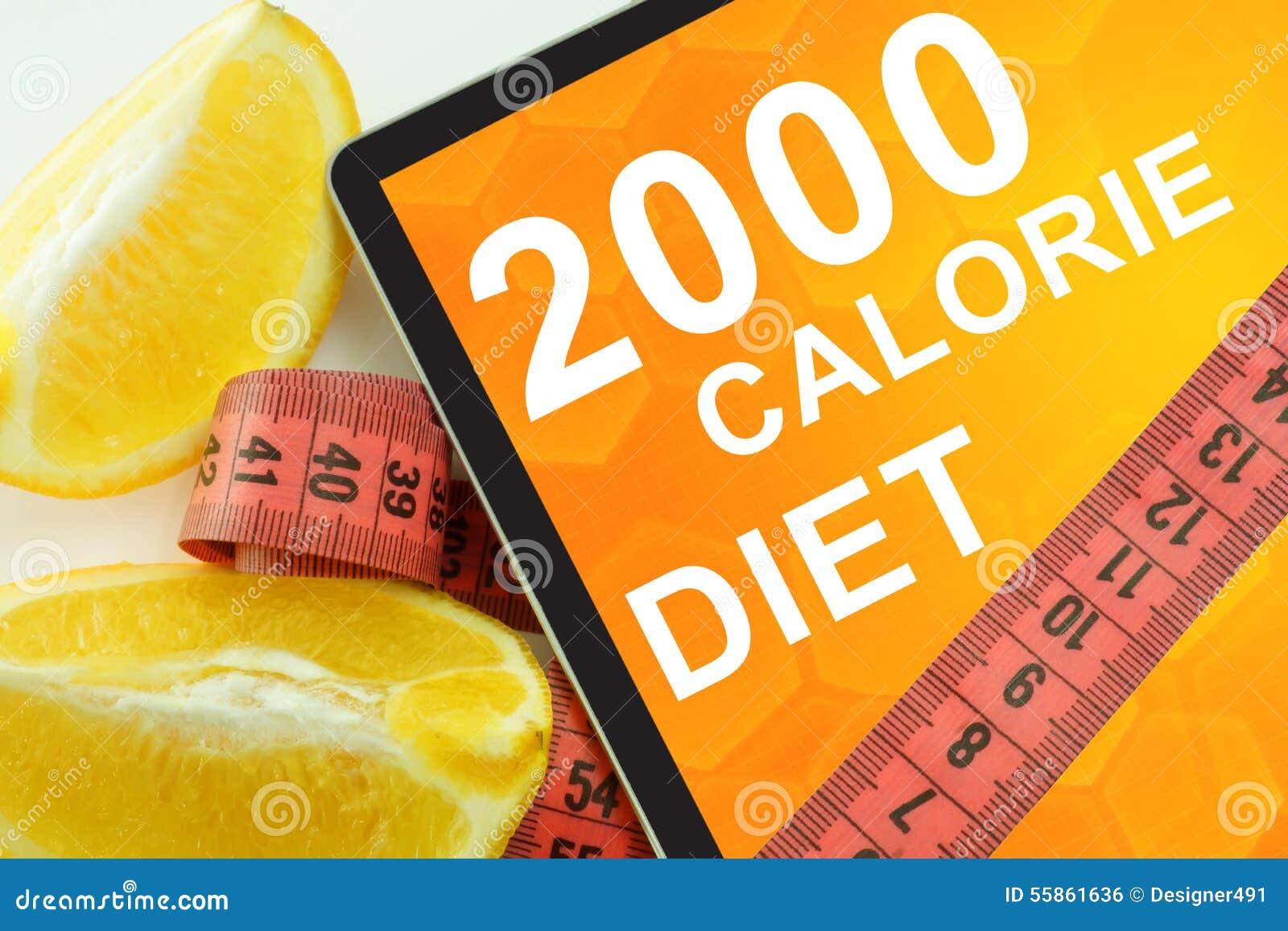 2000 dietas da caloria na tabuleta
