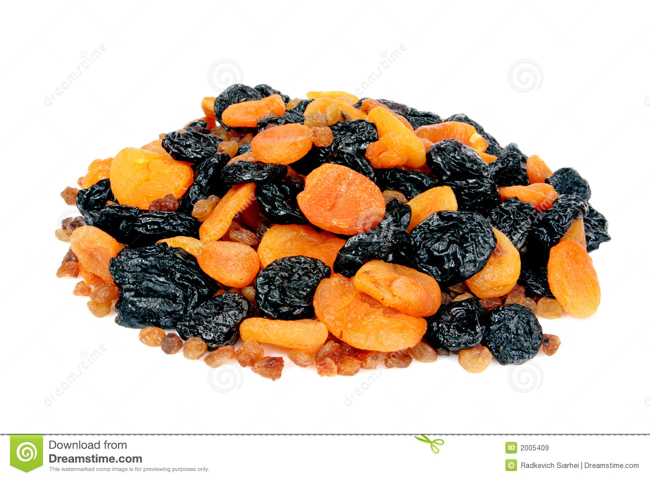 Dietetic Dried Fruits Royalty Free Stock Images Image 2005409