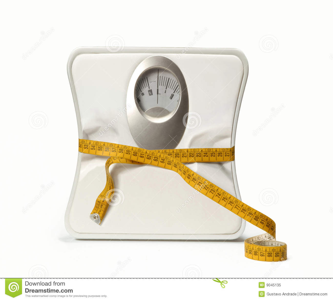 Dieting scale.