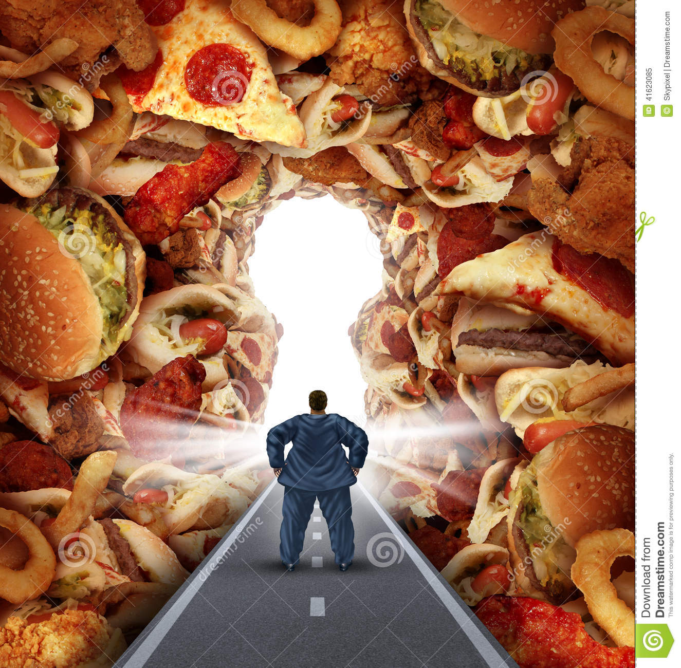 Dieting Solutions Stock Illustration - Image: 41623085