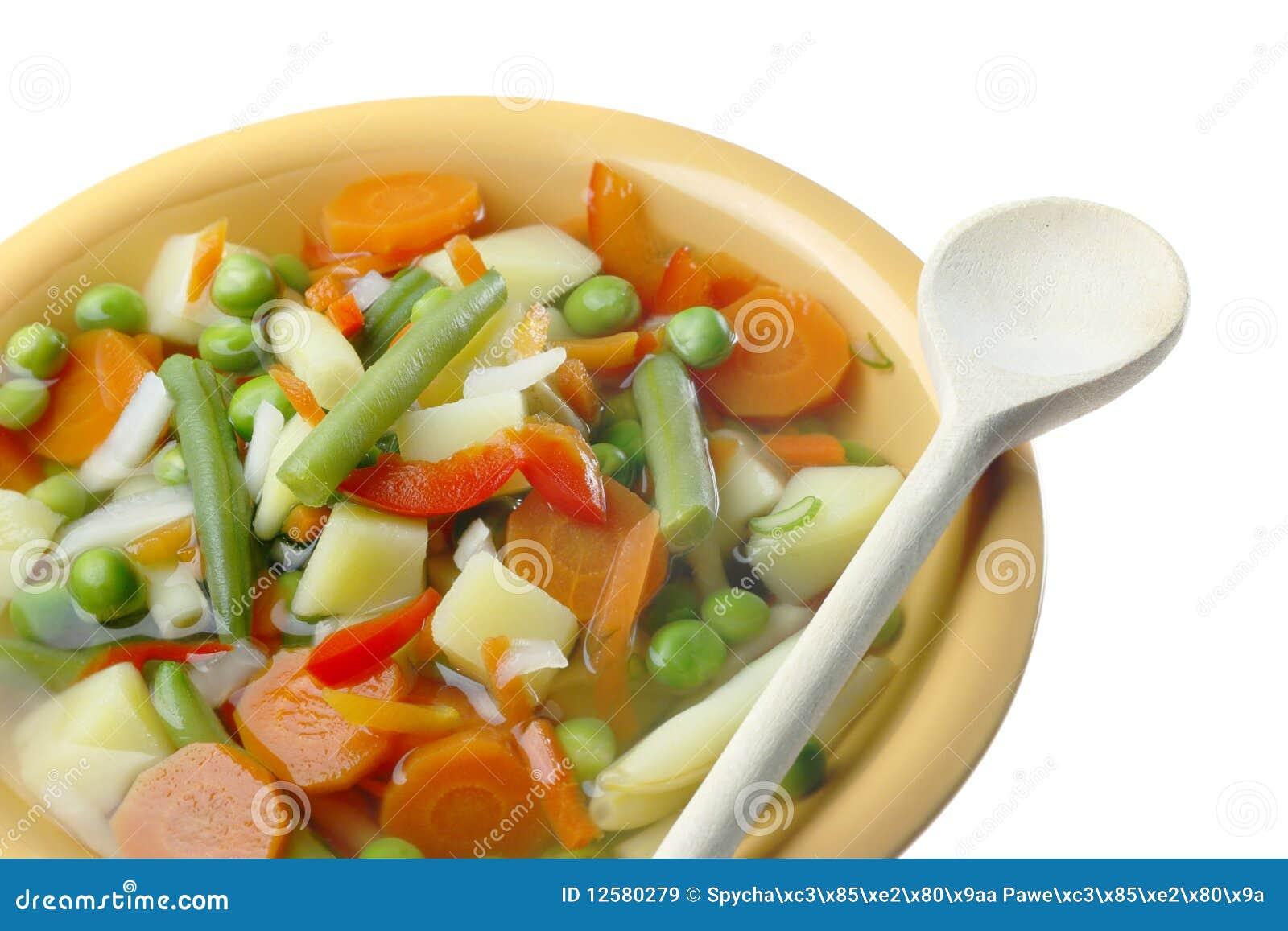 Diety polewki warzywo