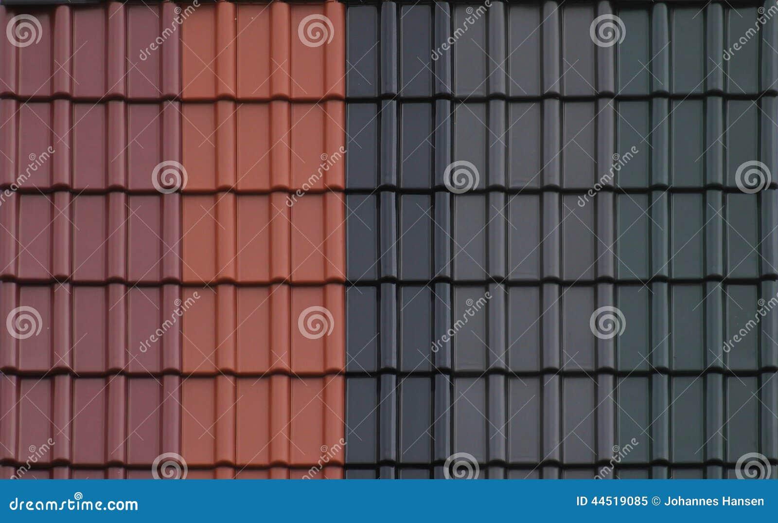 diff rentes tuiles de toit image stock image du datte