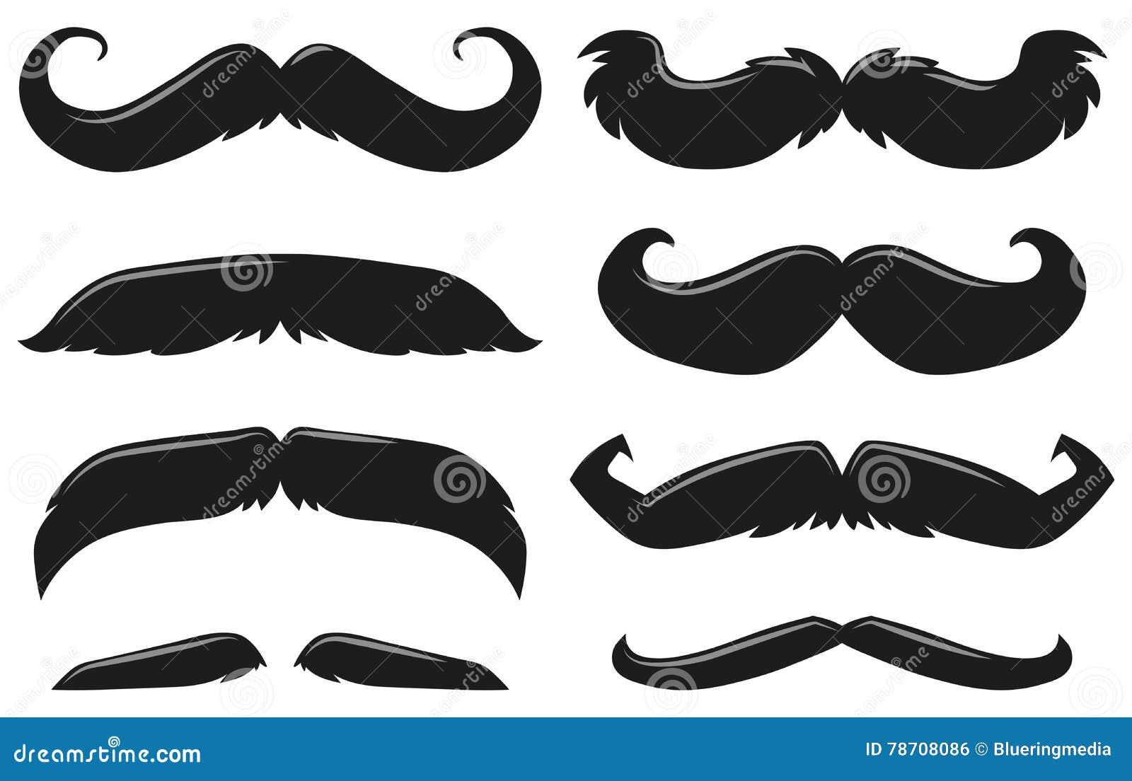 Diff rents types de moustache illustration stock image 78708086 - Differents types de ventilation ...